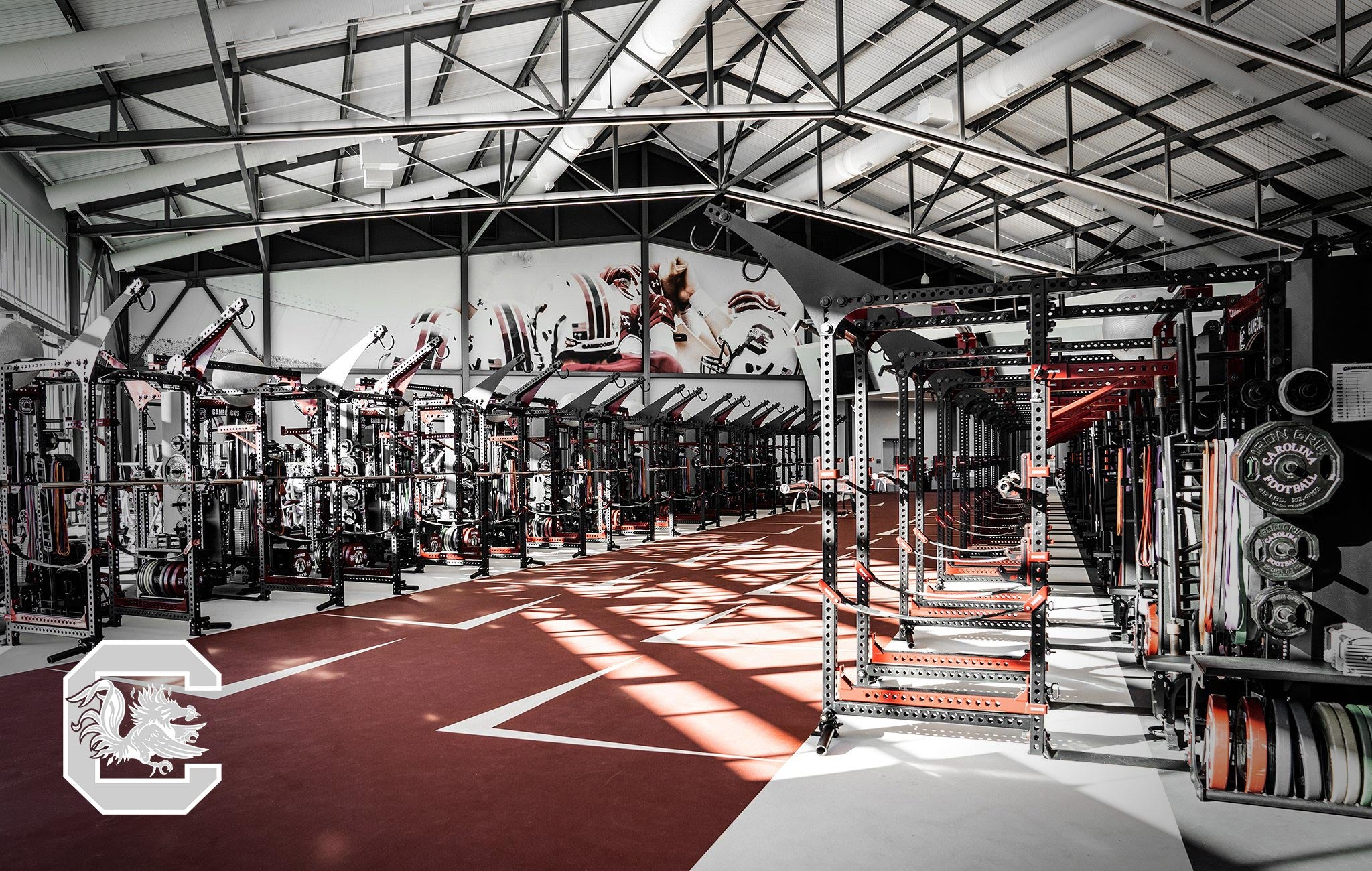 University of South carolina Sorinex strength and conditioning facility