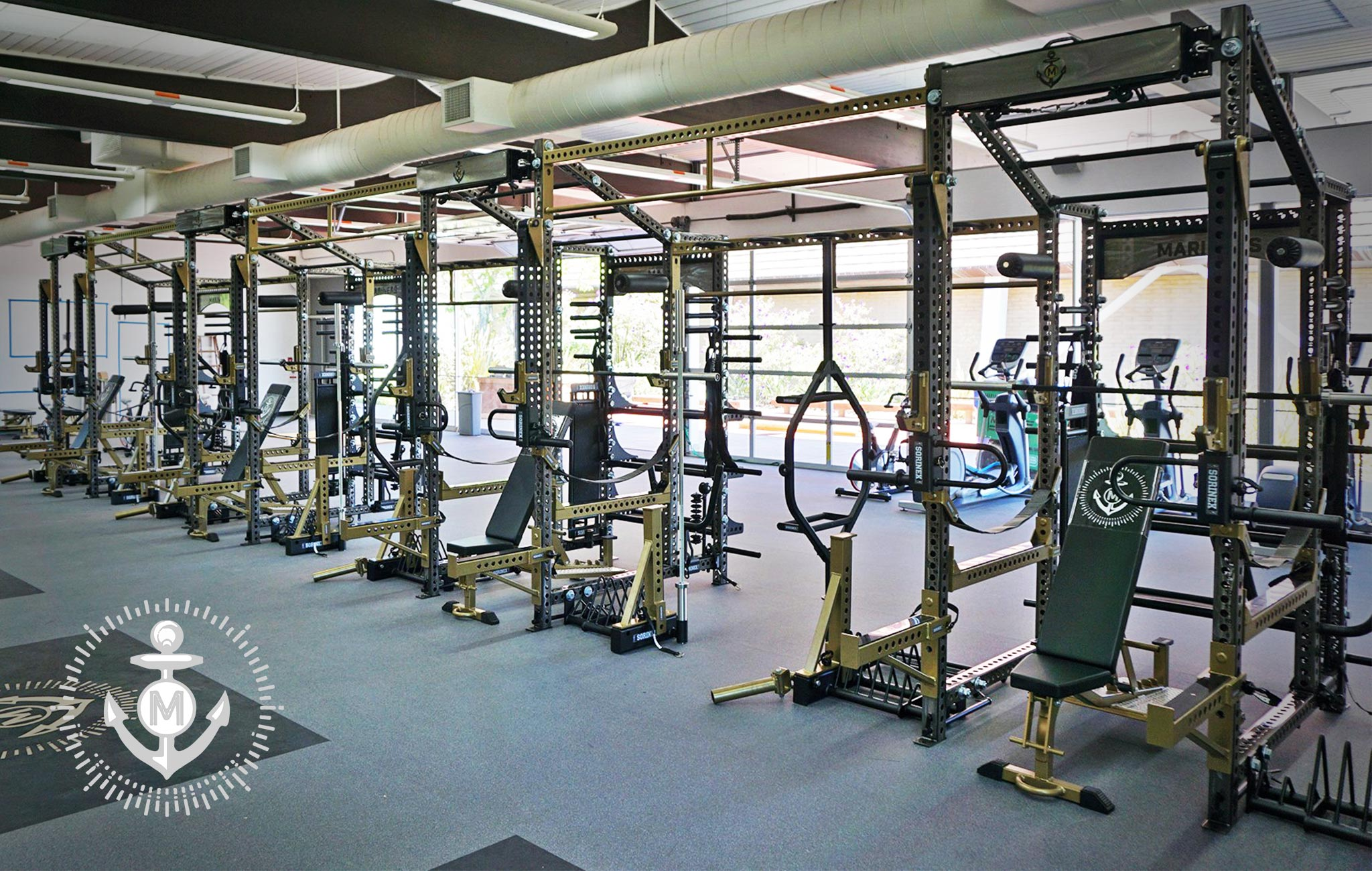 College of Marin Sorinex strength and conditioning facility
