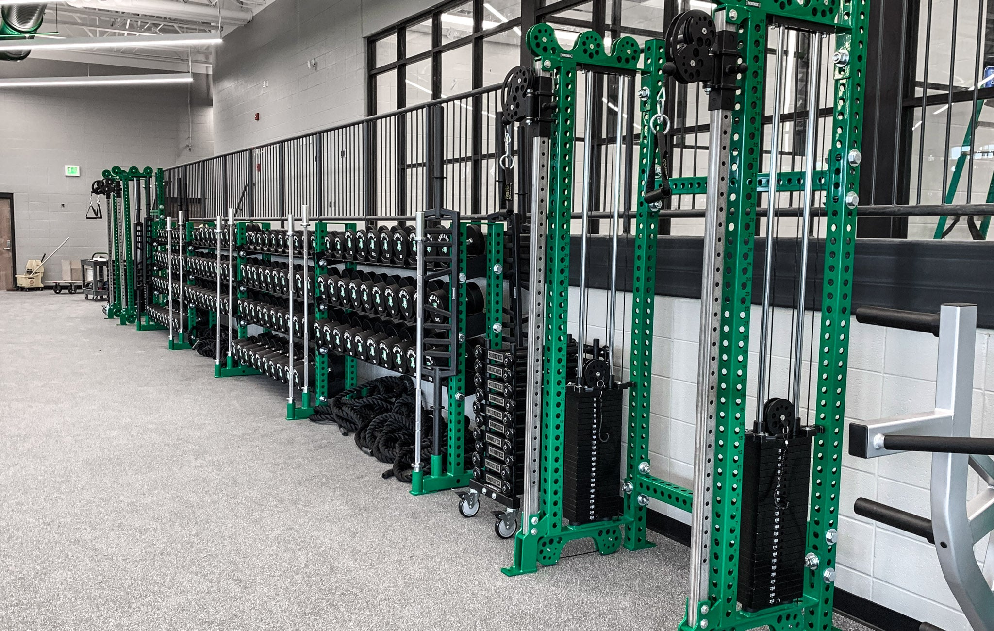Concord High School strength training
