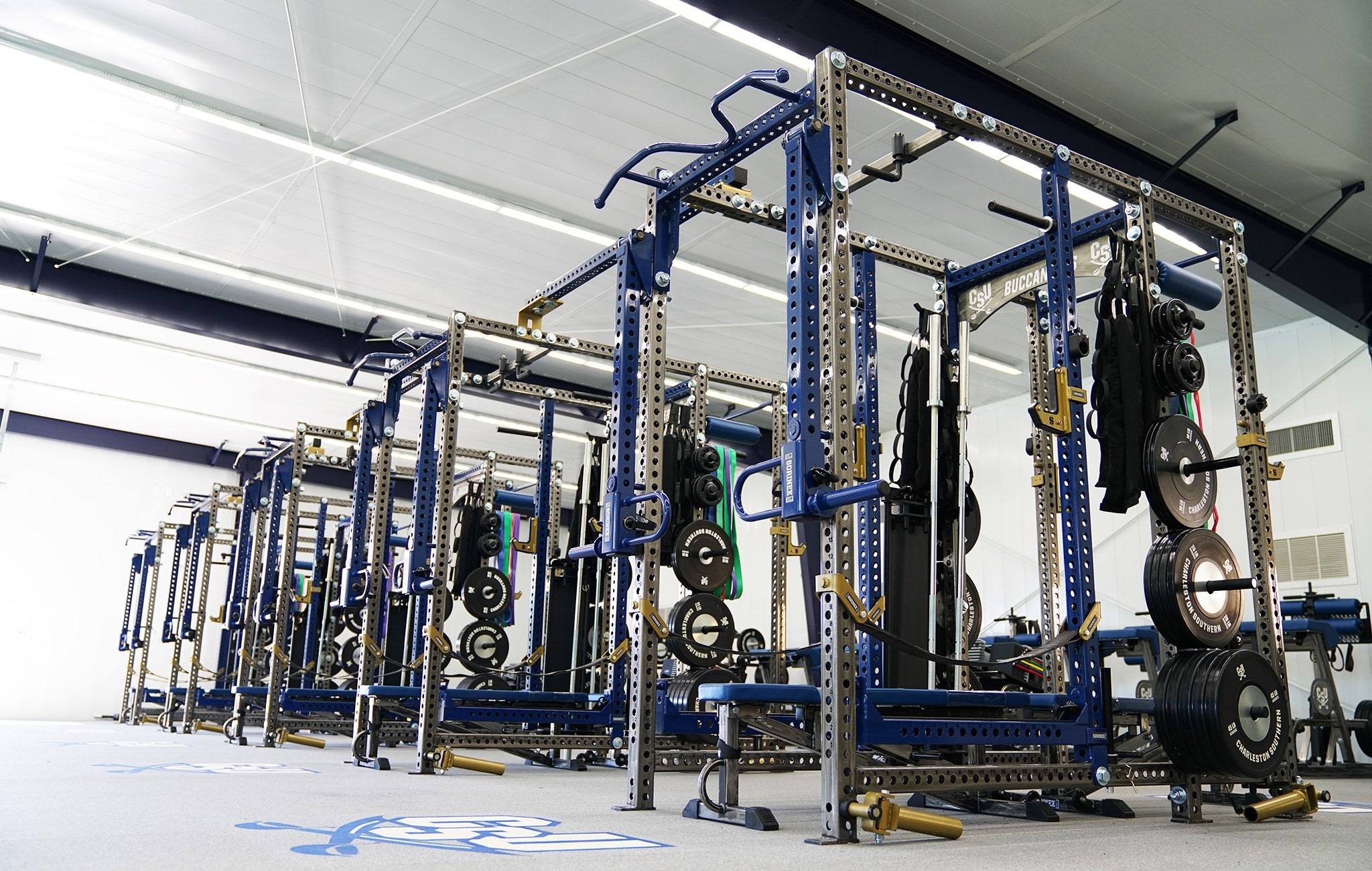 Charleston Southern Weight Room