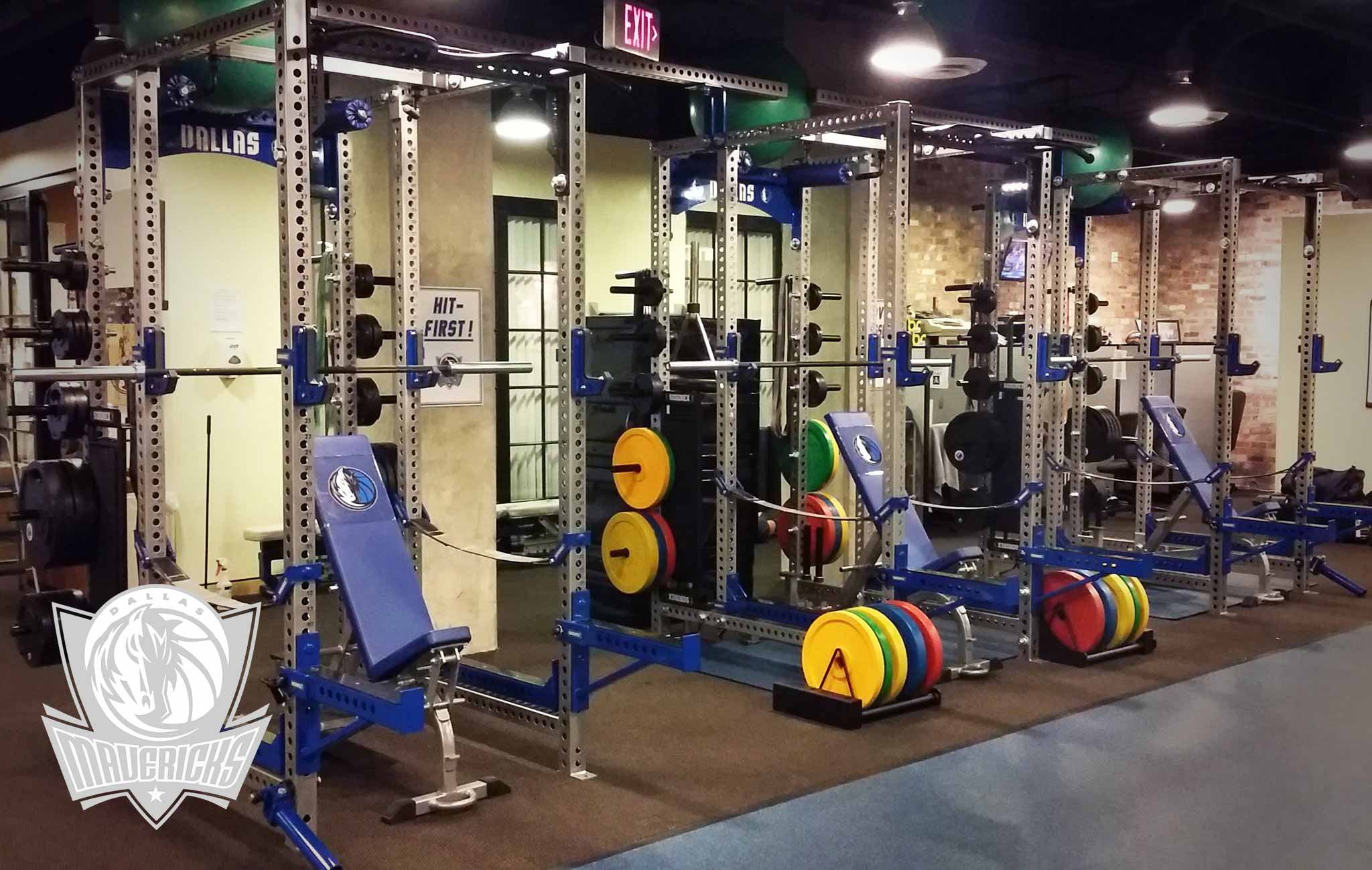 dallas maverick Sorinex strength and conditioning facility