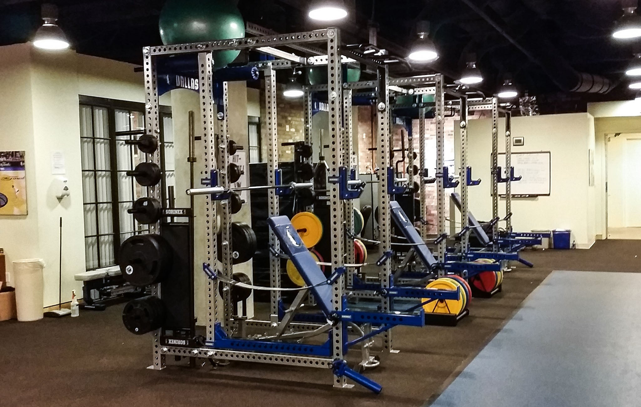 sorinex Professional Weight Rooms
