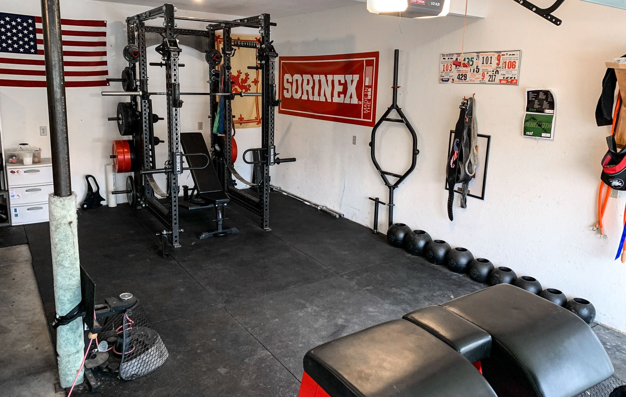 Dan Mckim Home Gym