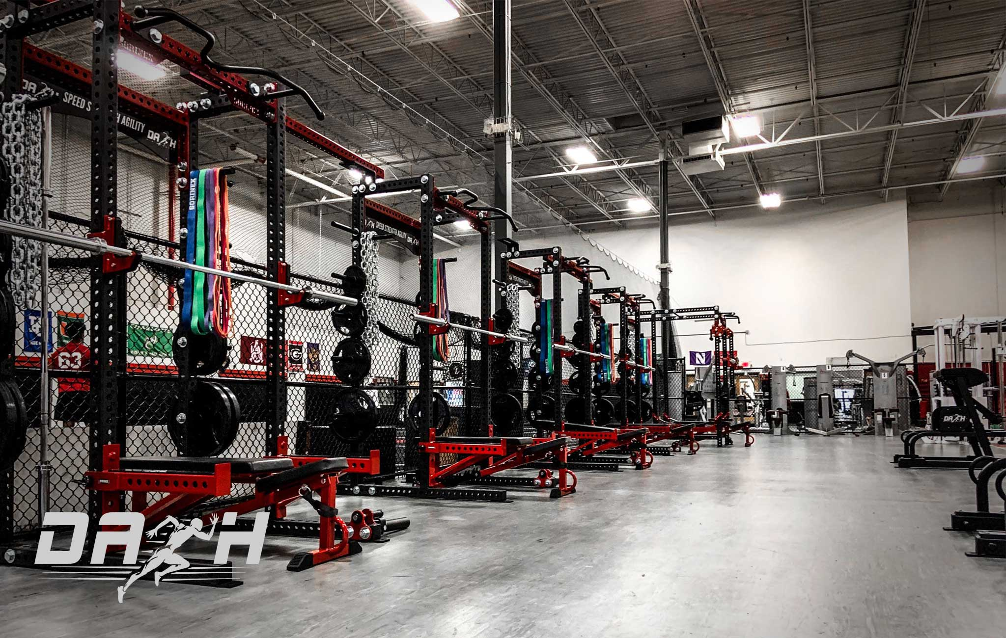 Dash Performance Private Training facility Sorinex