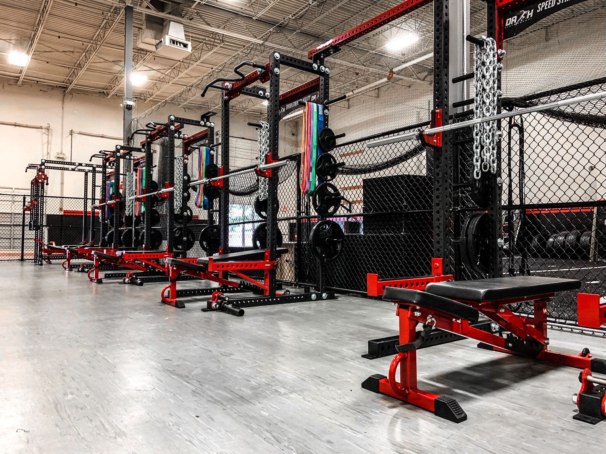 Dash Performance weight room