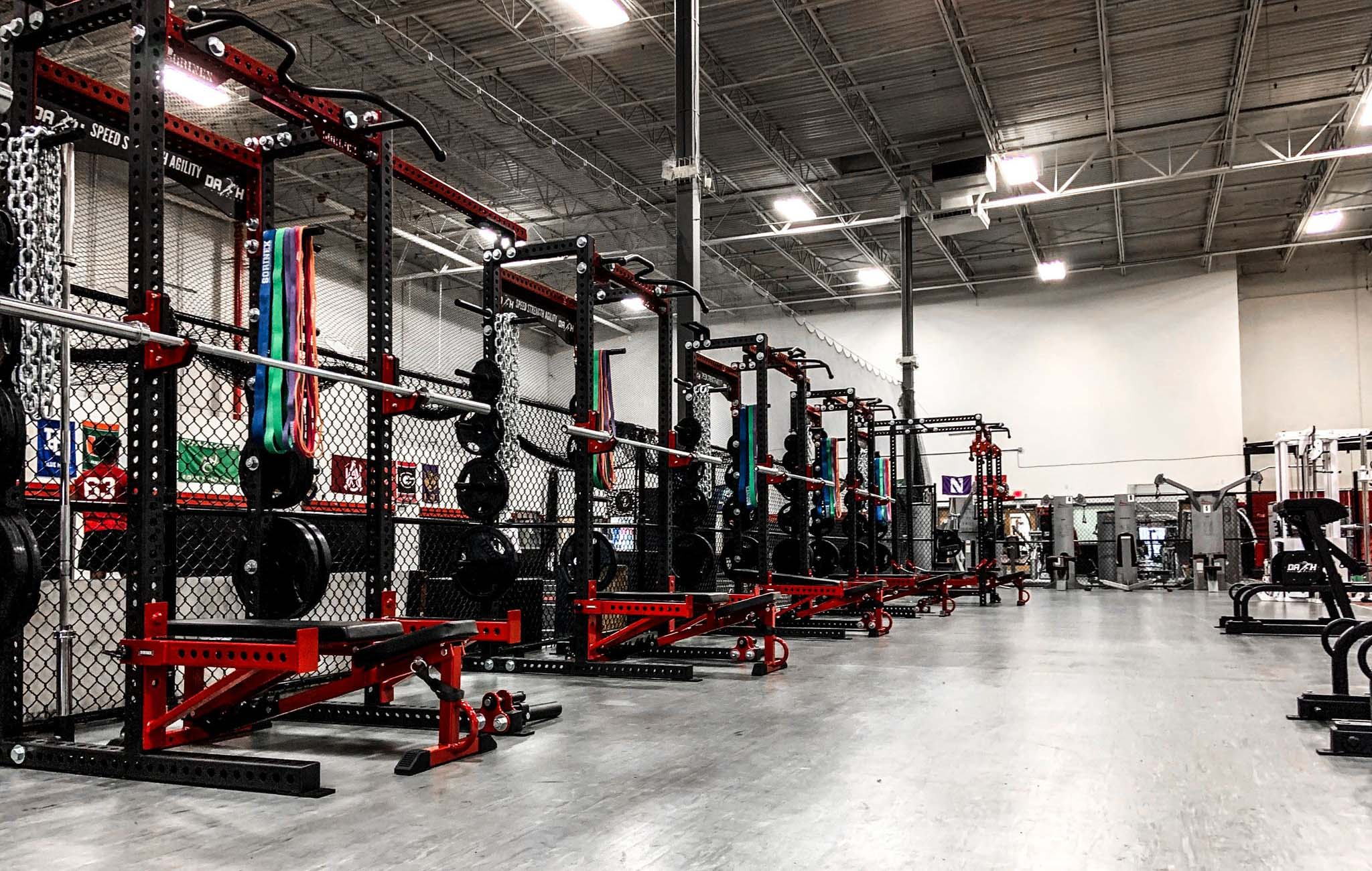 Dash Performance training facility
