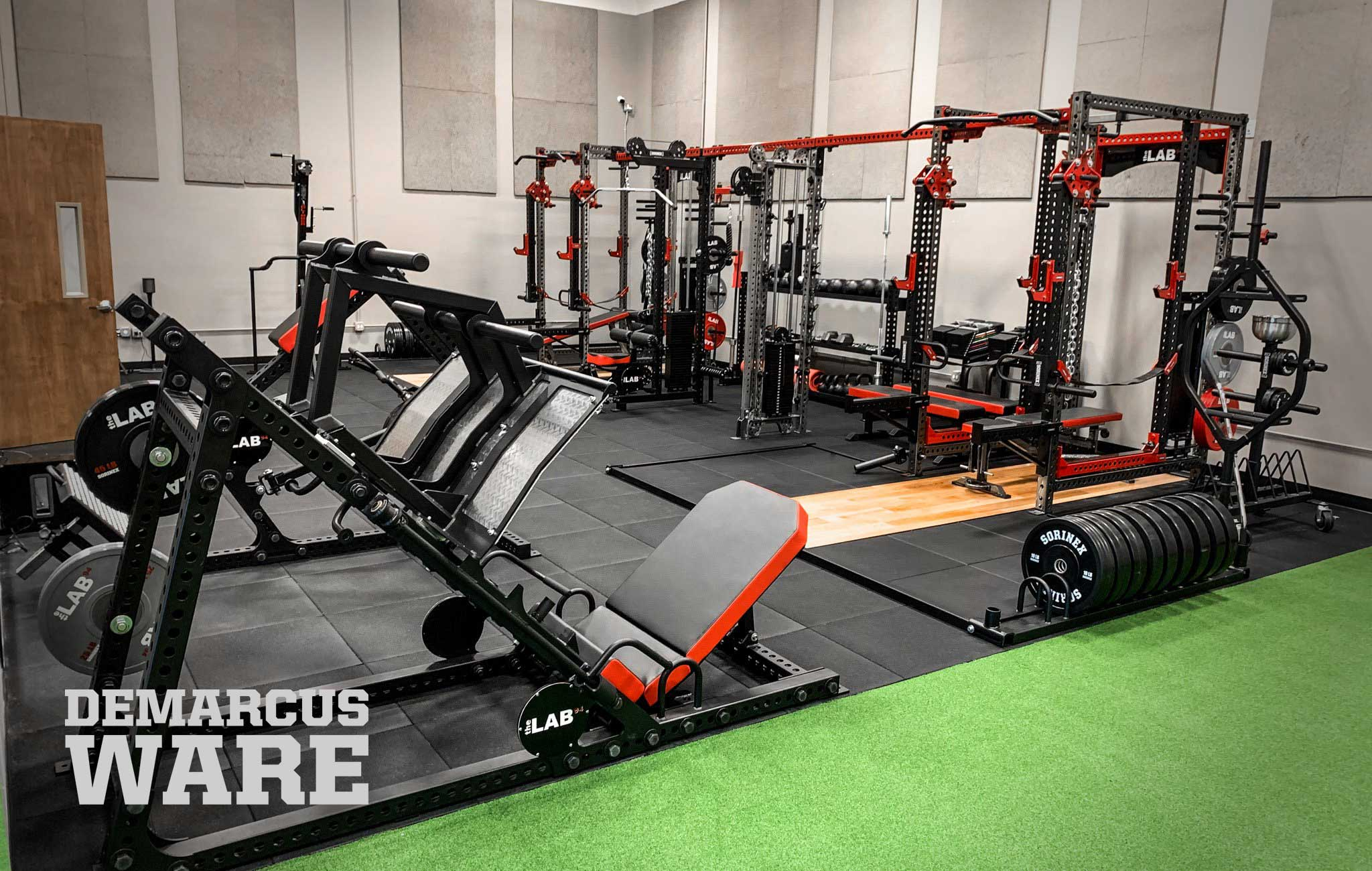 Demarcus Ware Home Gym