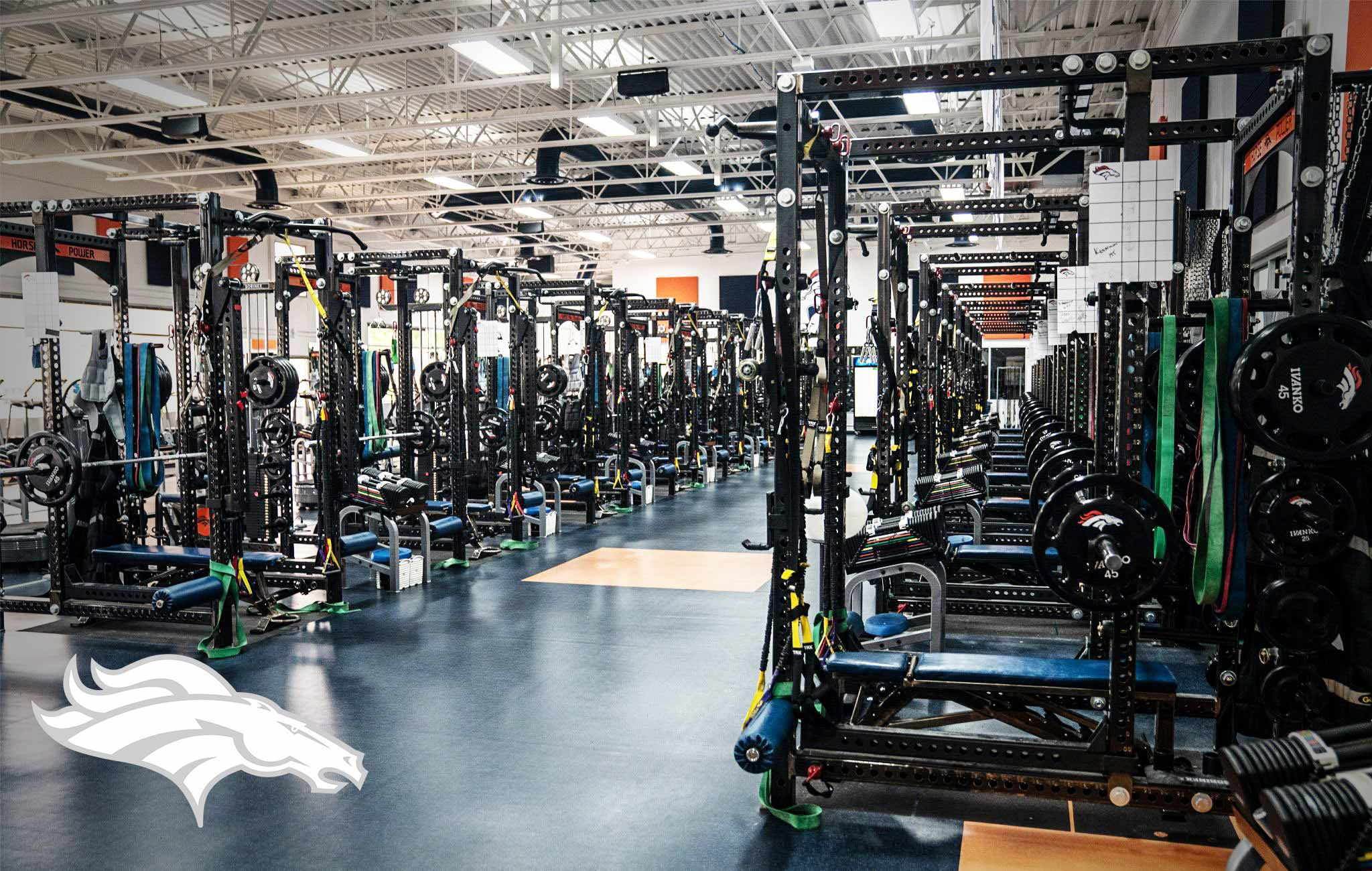 Denver Broncos Sorinex strength and conditioning facility