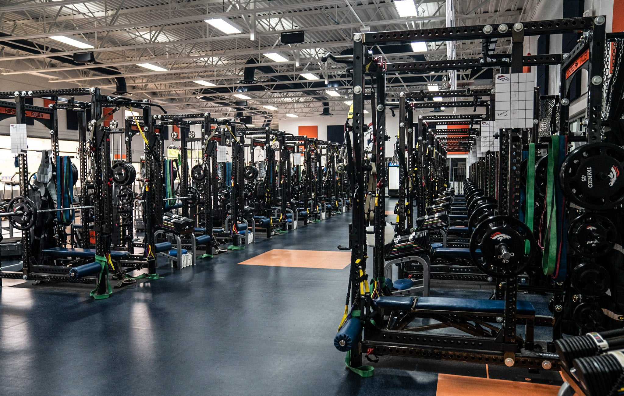 Broncos Weight Room
