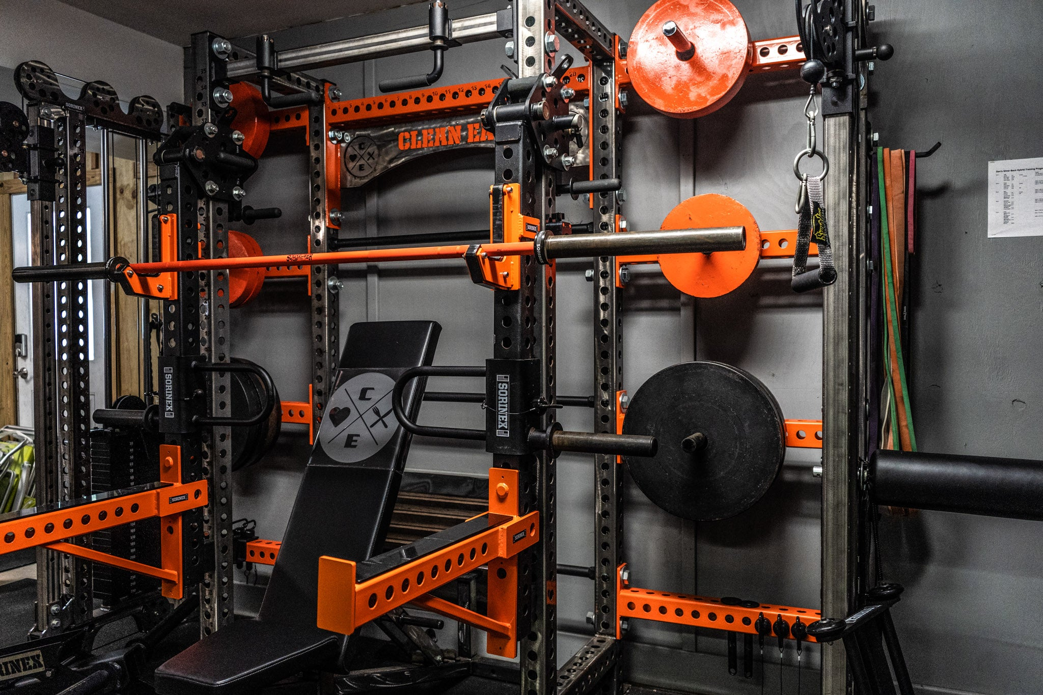 Don Varady Garage Gym
