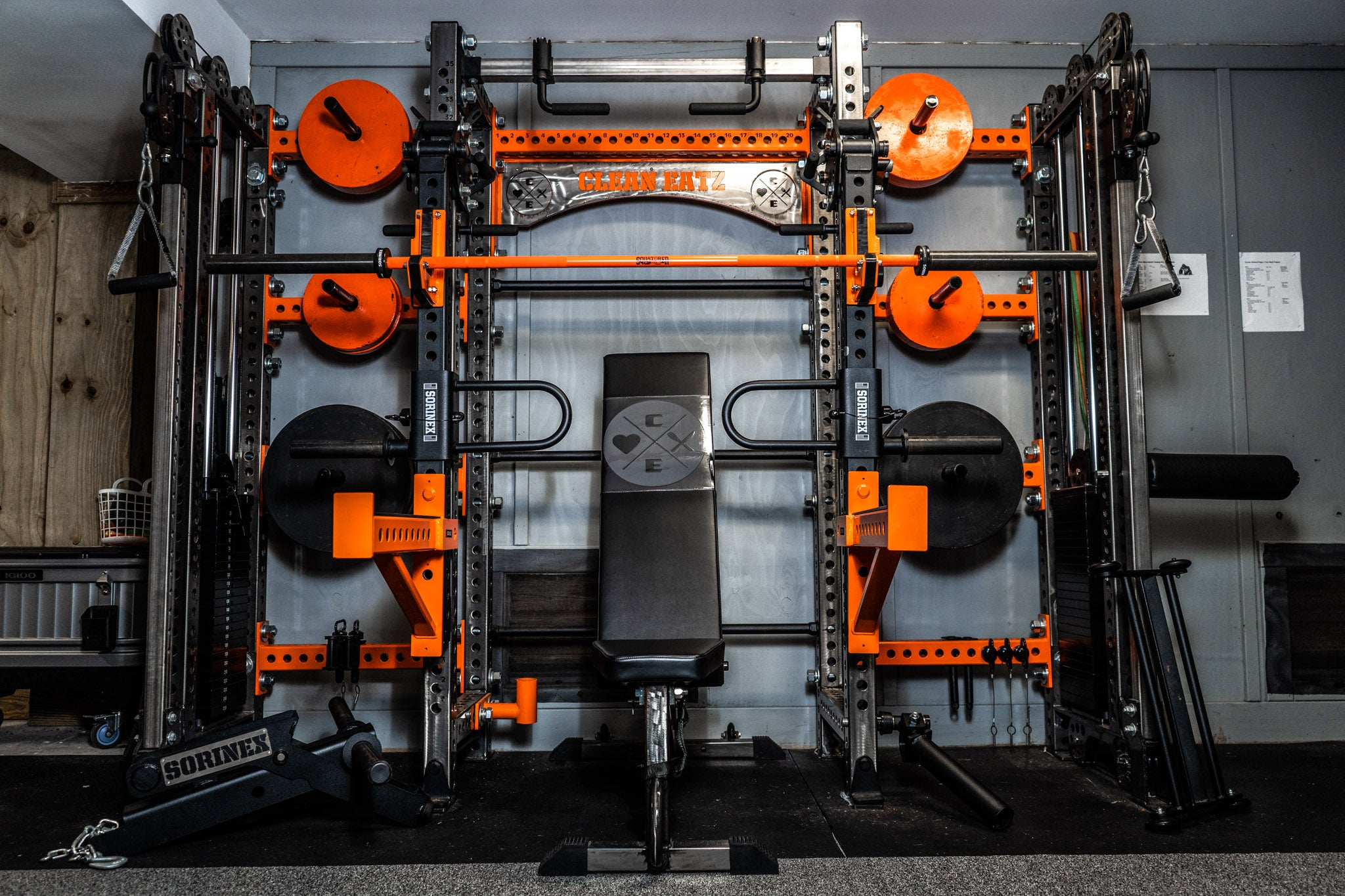 Don Varady Home Gym