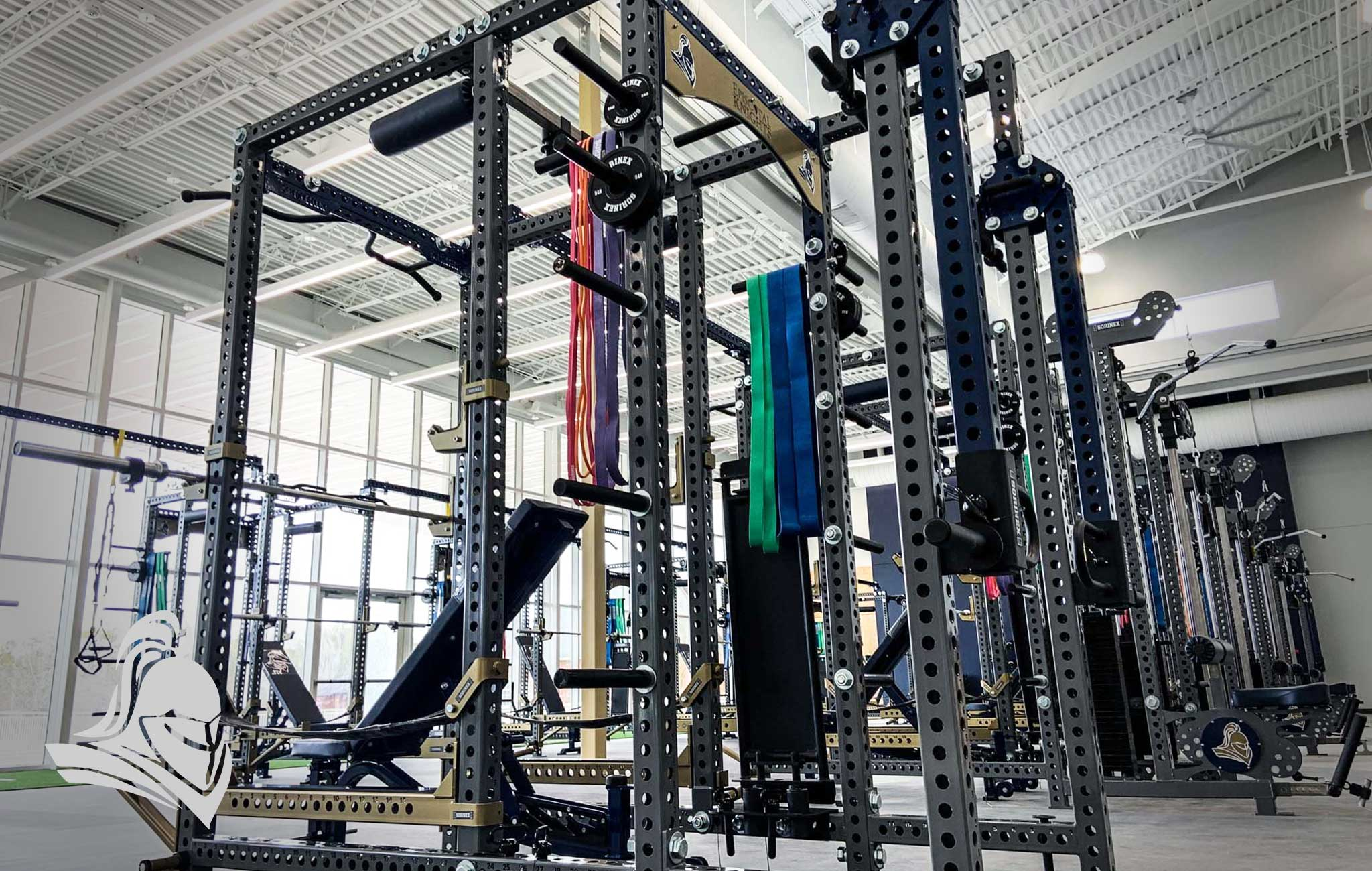 Episcopal High School Sorinex strength and conditioning facility