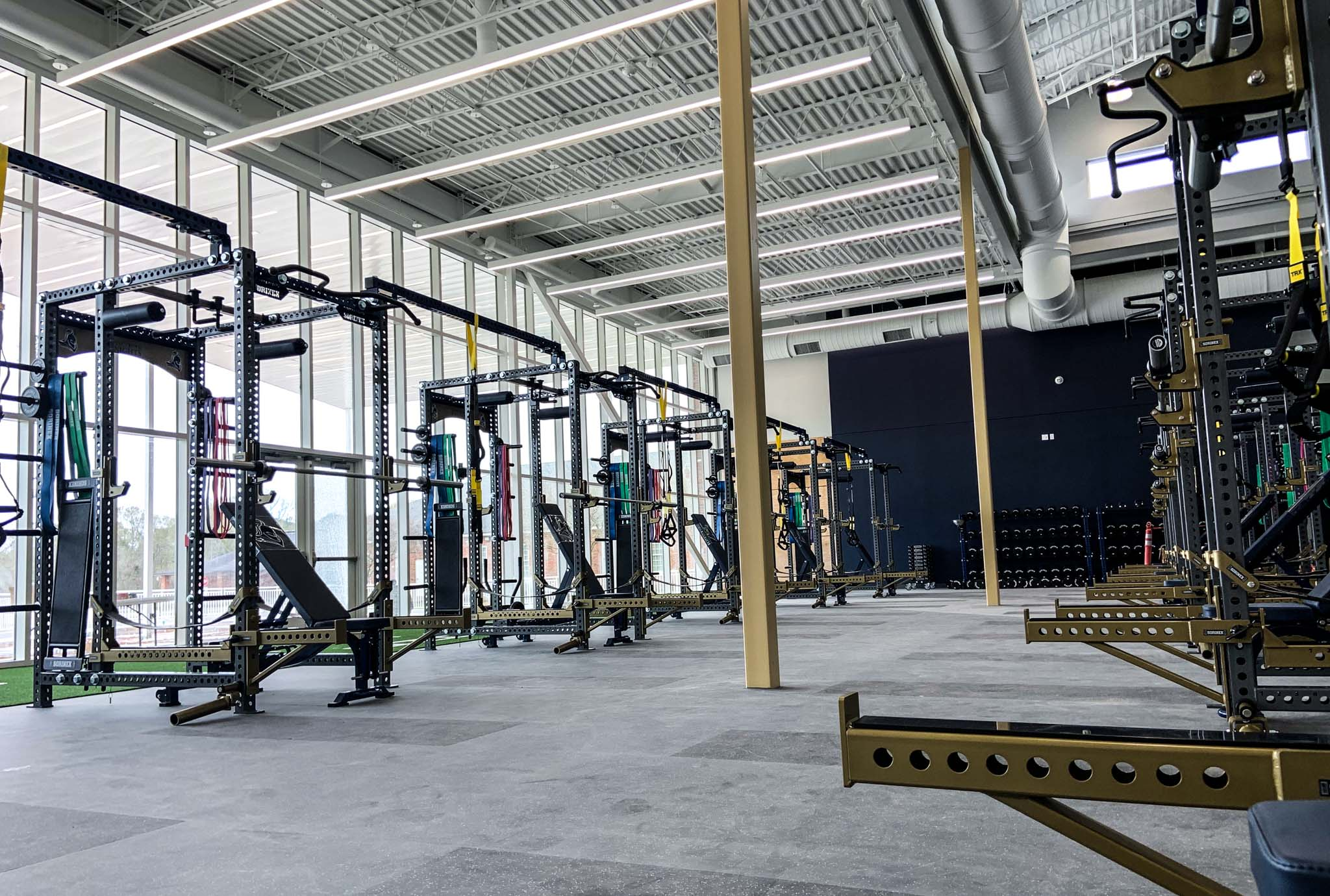 Episcopal High School Weight Room