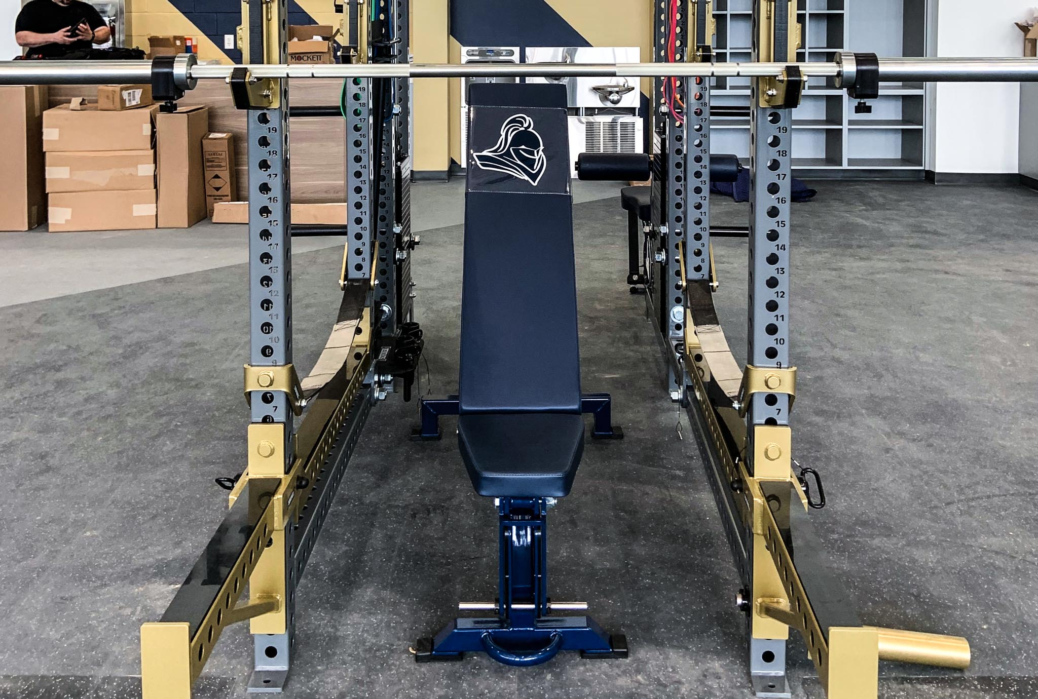 Episcopal High School power rack