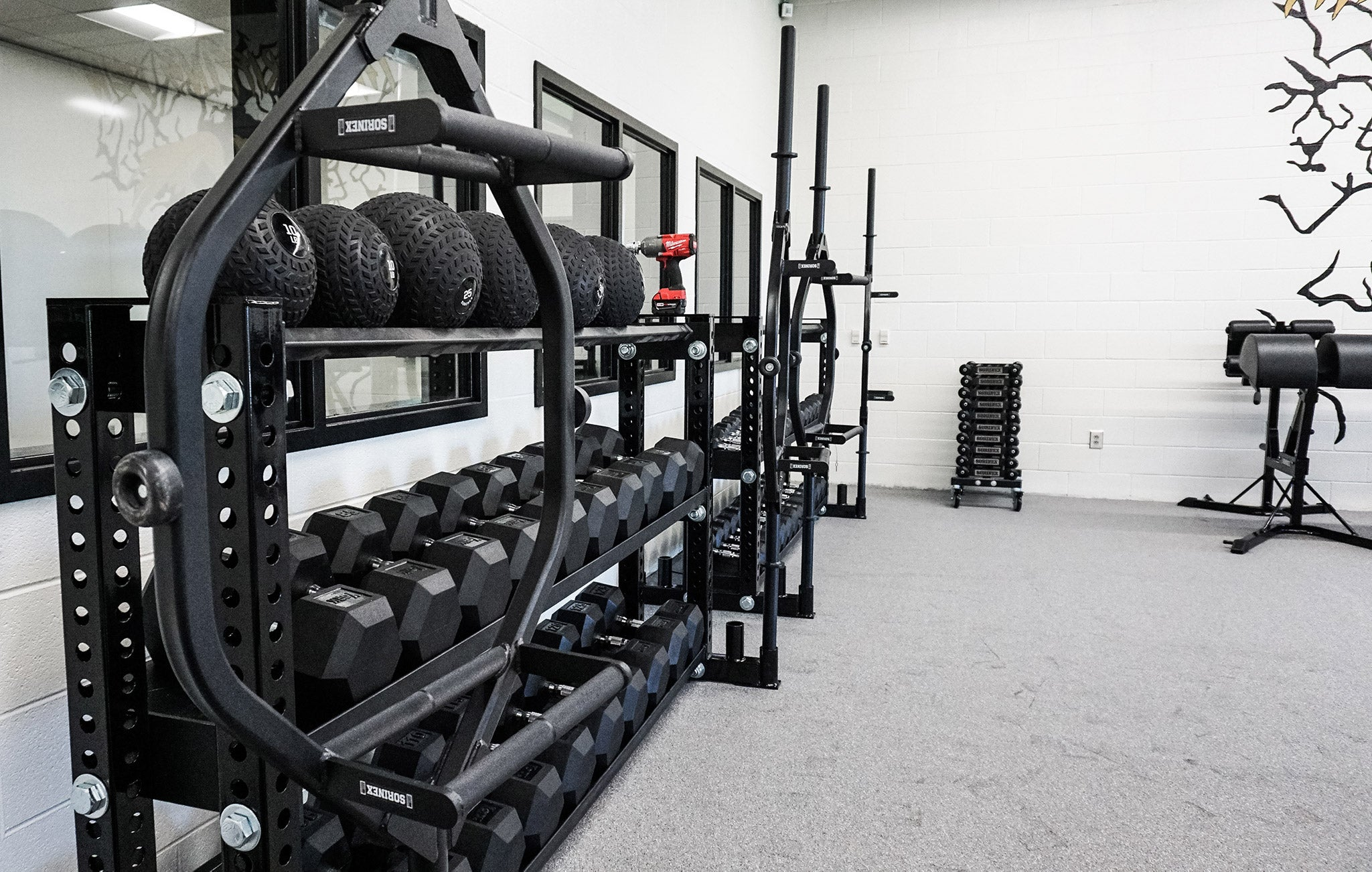 Fairfield Central High School strength training facility