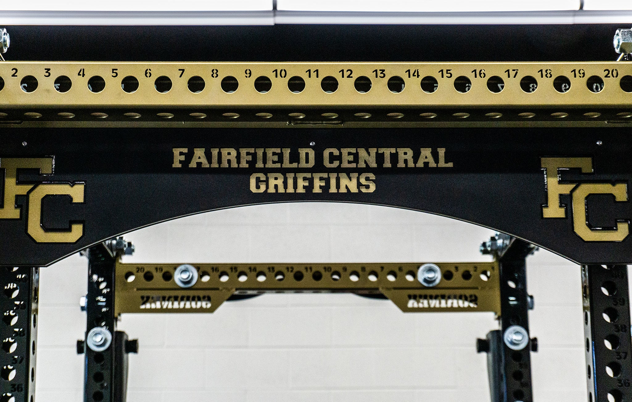 Fairfield Central High School Weight Room