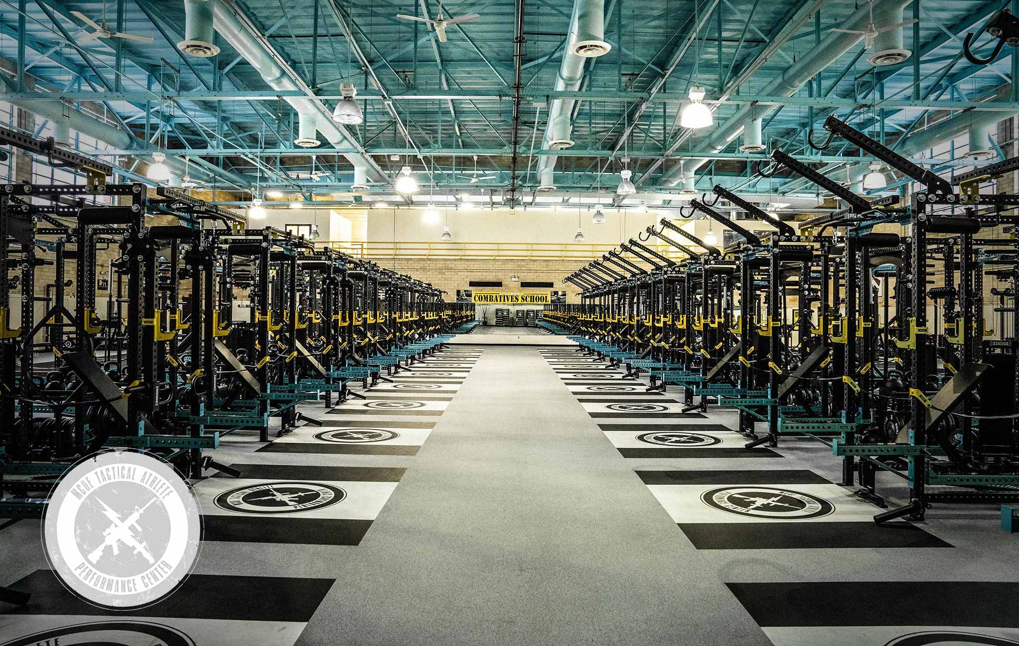Fort Benning Sorinex strength and conditioning facility