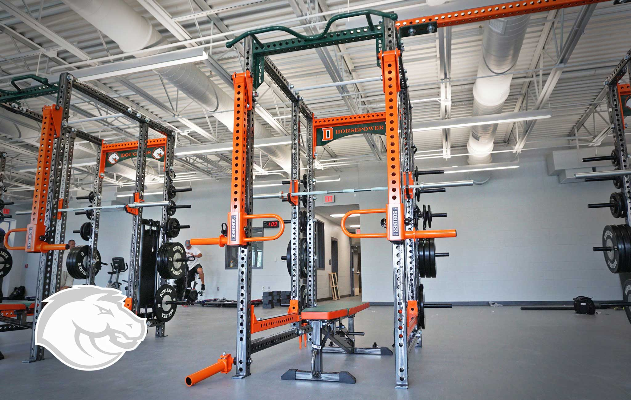 Fredrick Douglass high school Sorinex strength and conditioning facility
