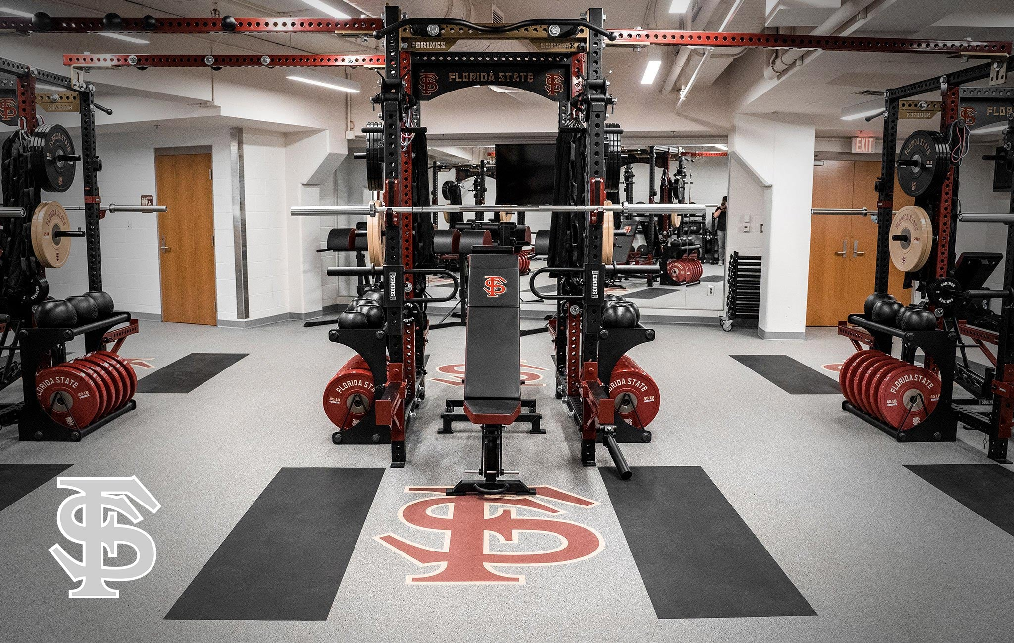 Florida State University Sorinex strength and conditioning facility