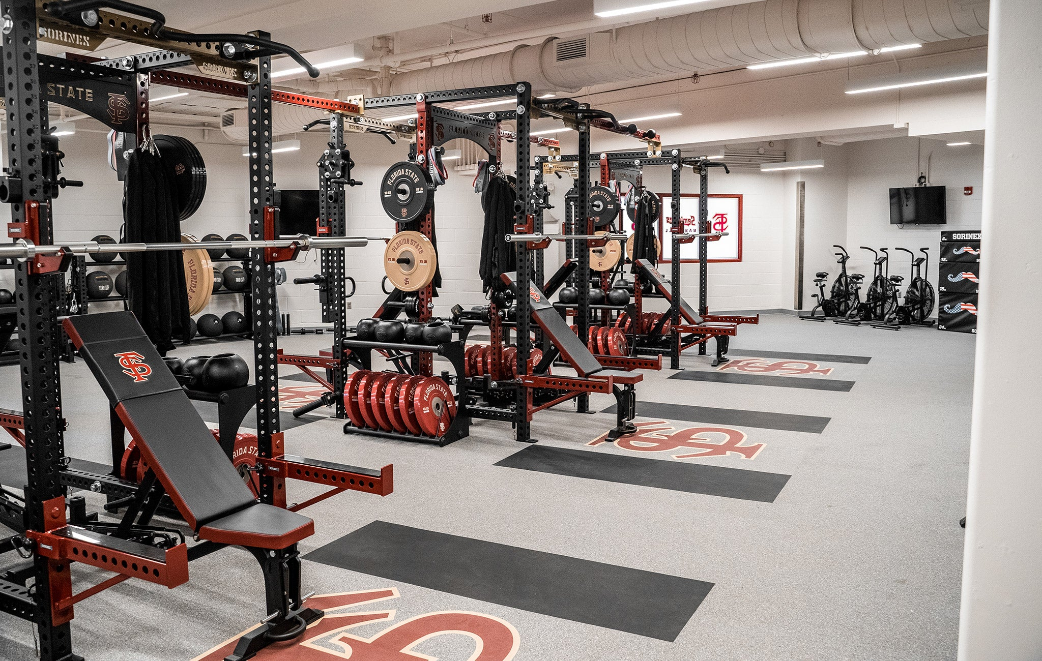 Florida State University Weight Room