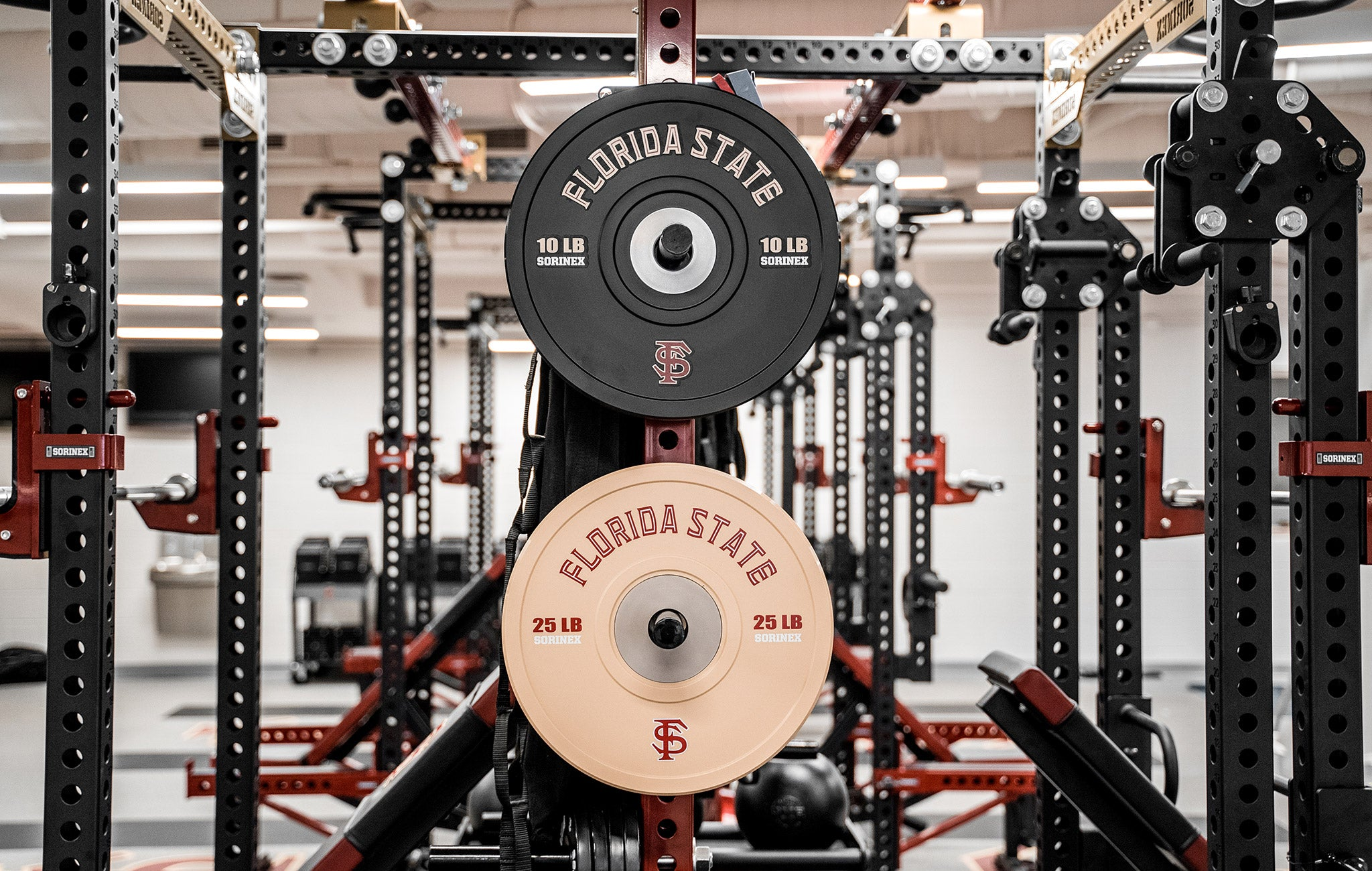 FSU baseball weight room
