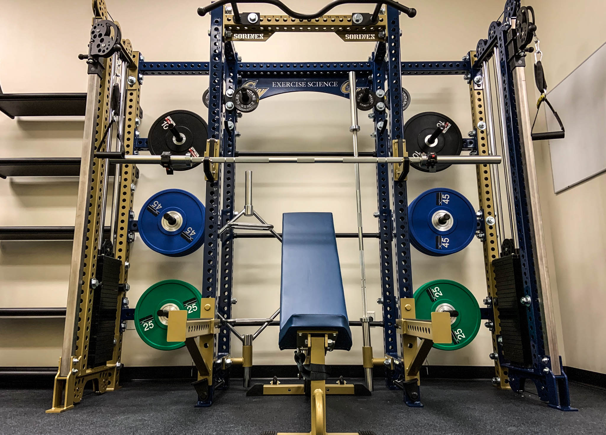 George Washington University strength and conditioning