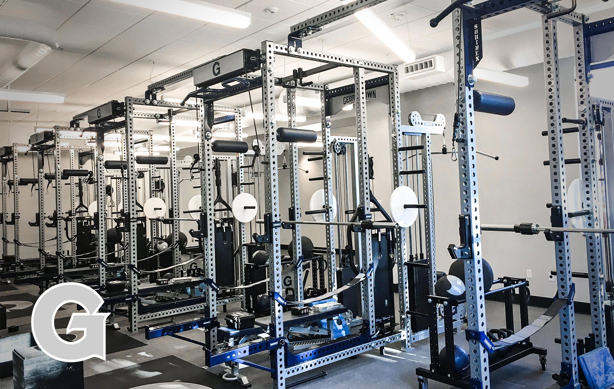 Georgetown University Sorinex strength and conditioning facility