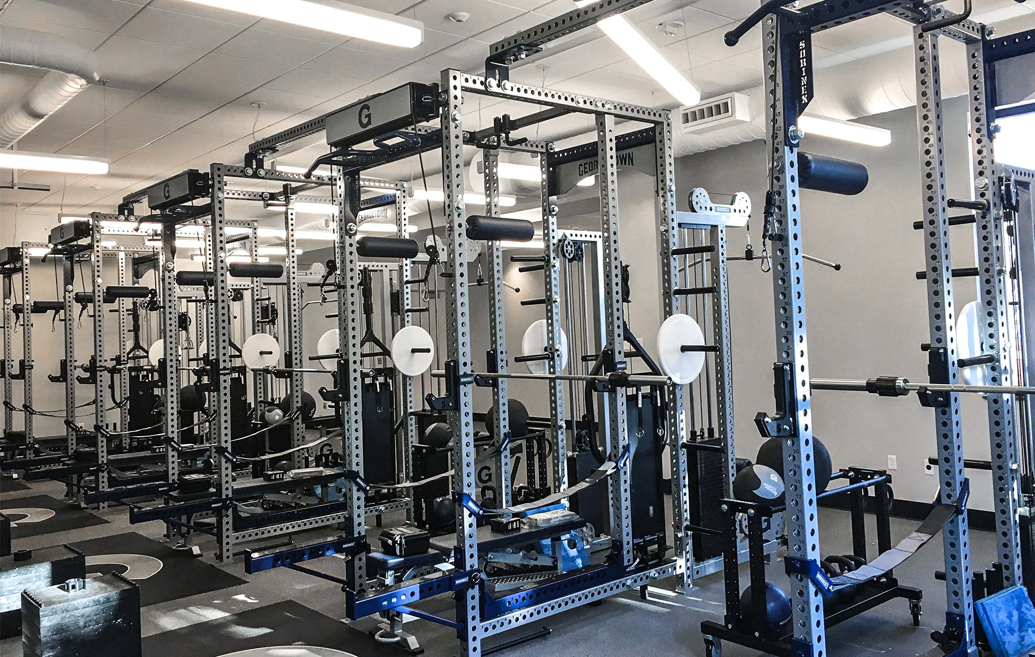 Georgetown Basketball Weight Room