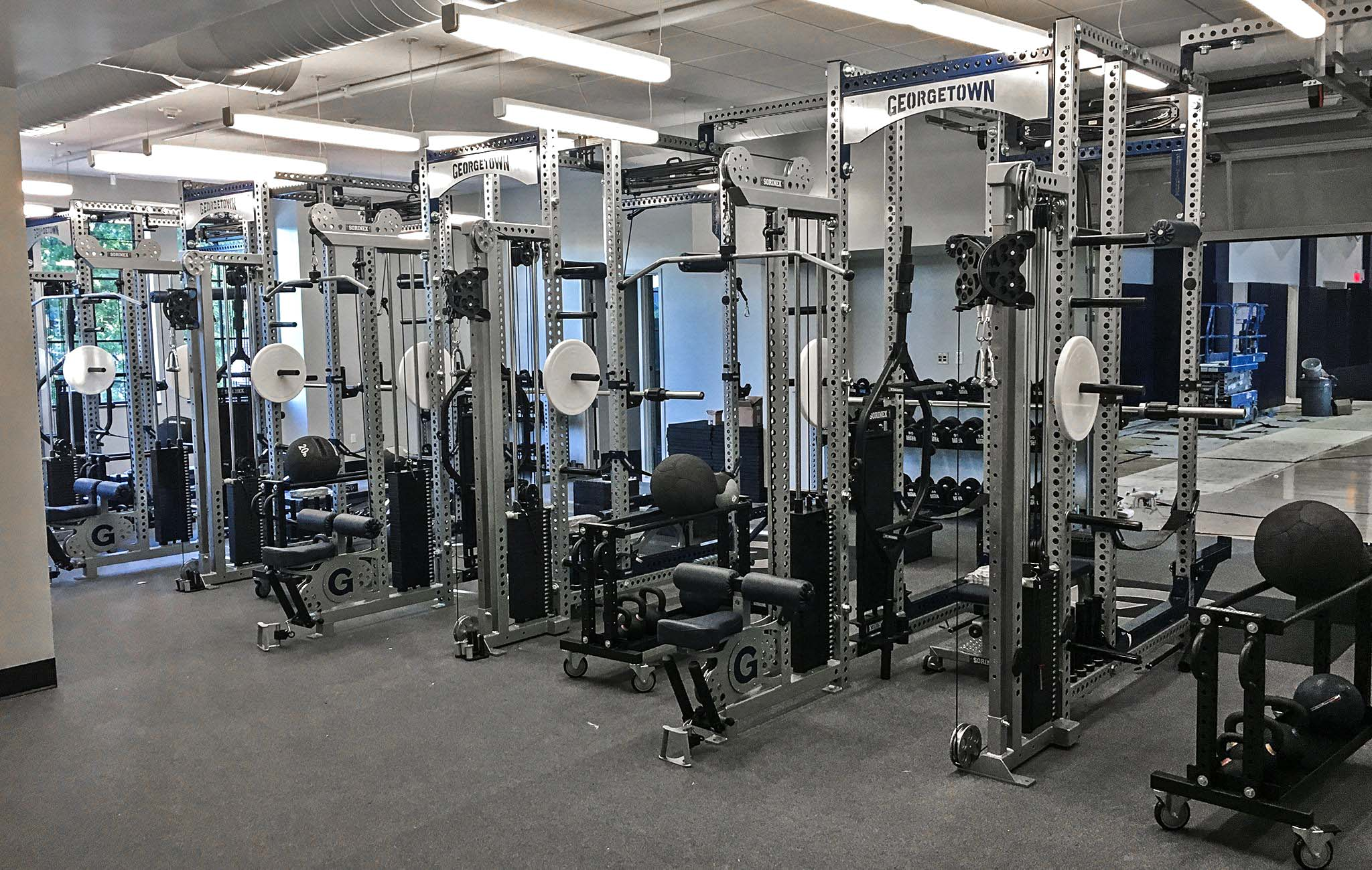Georgetown strength and conditioning