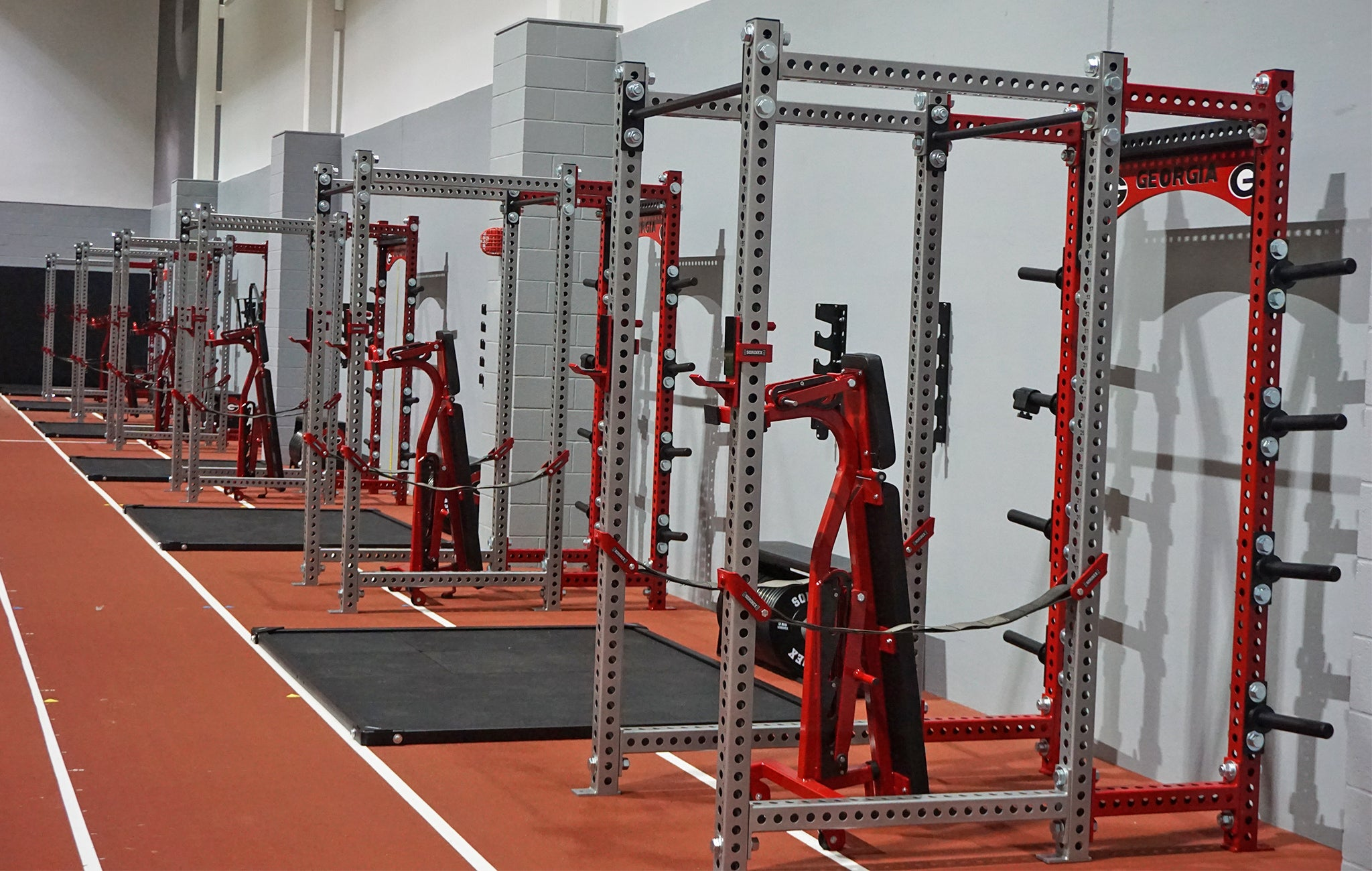 University of Georgia Weight Room