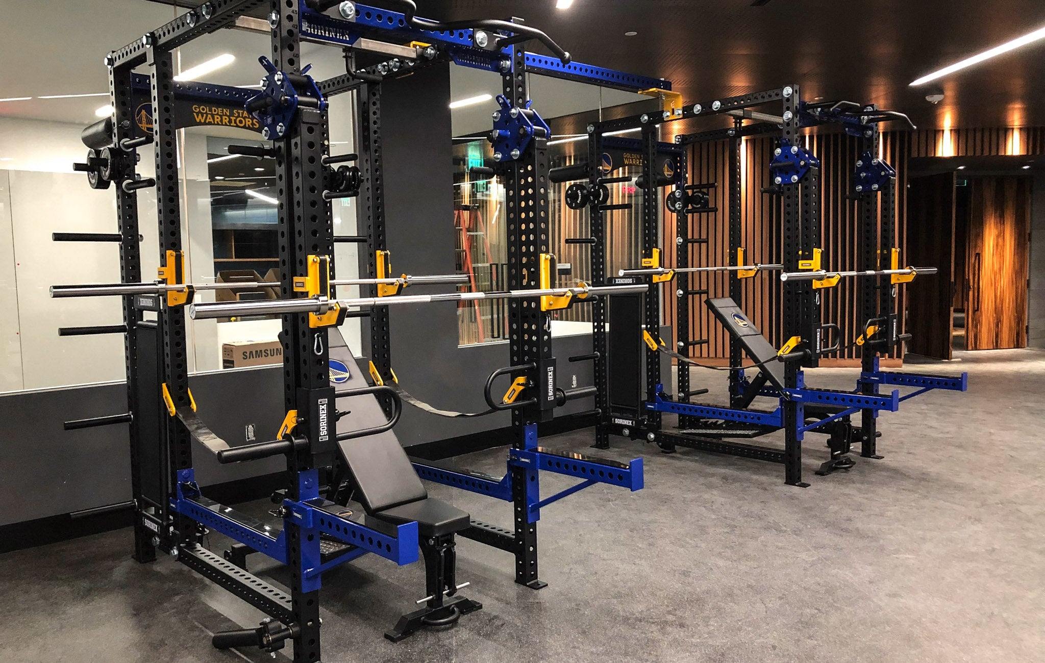 Golden State Warriors Weight Room