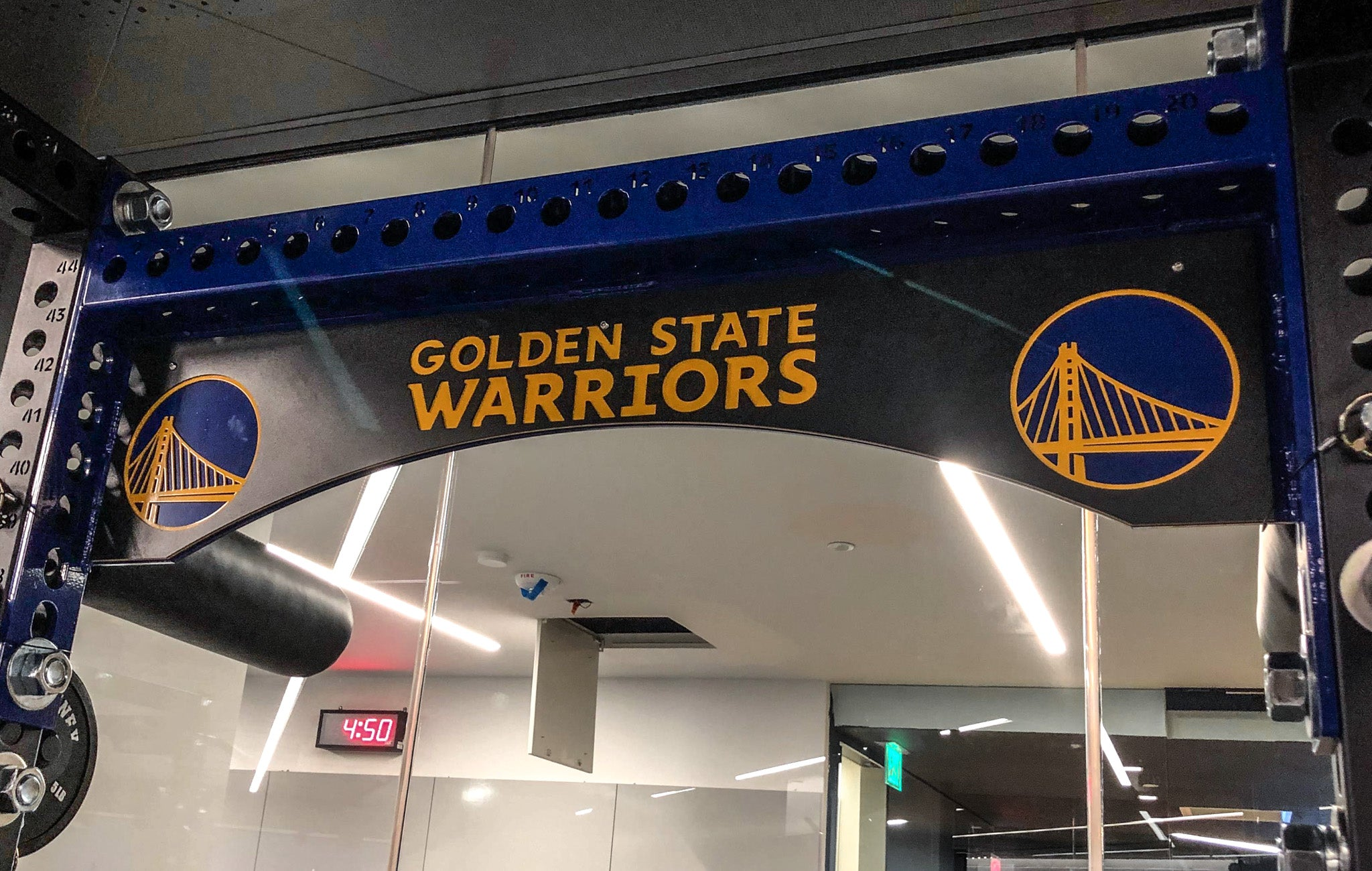 Golden State Warriors training