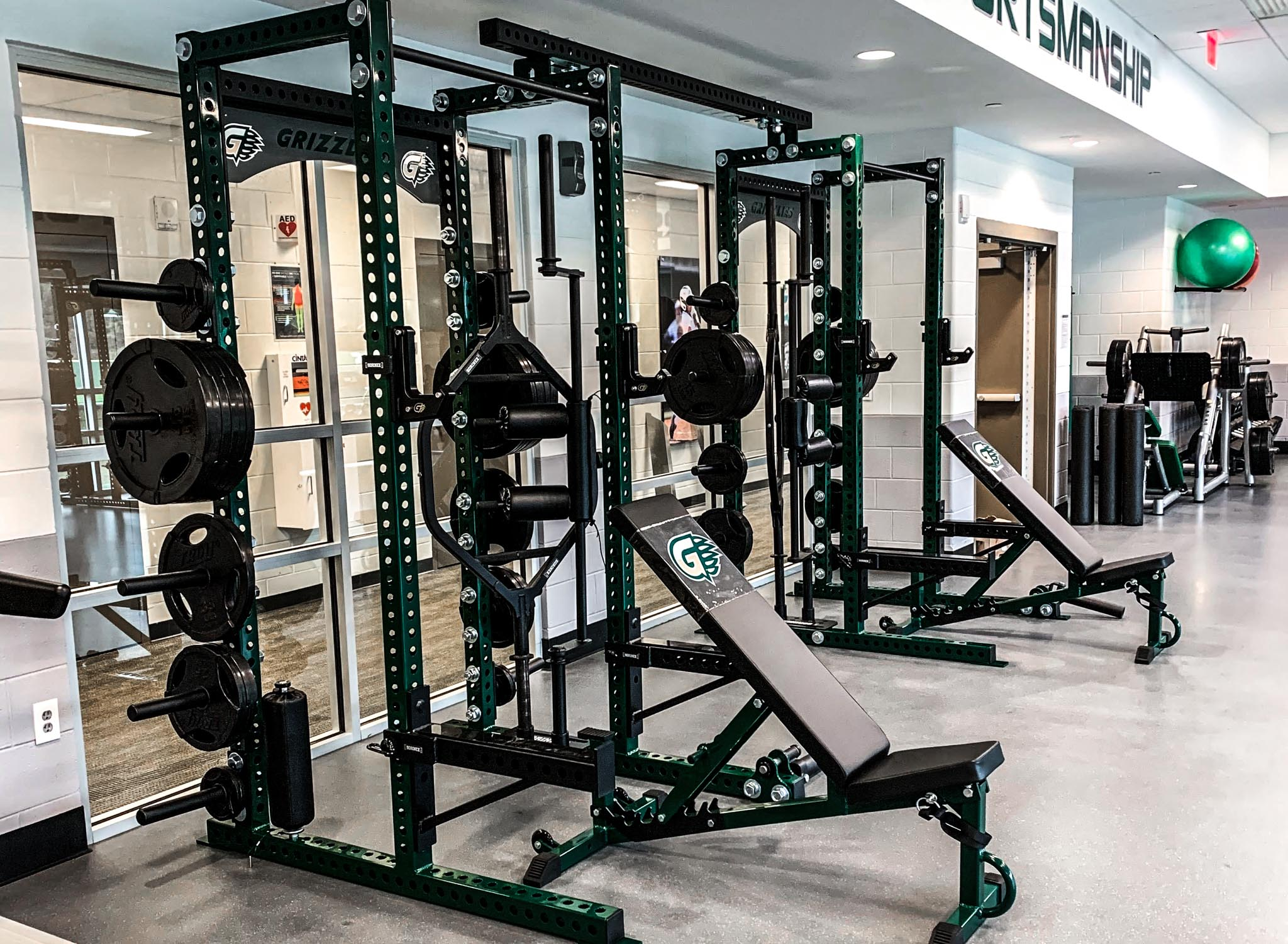 Georgia Gwinnett College Weight Room