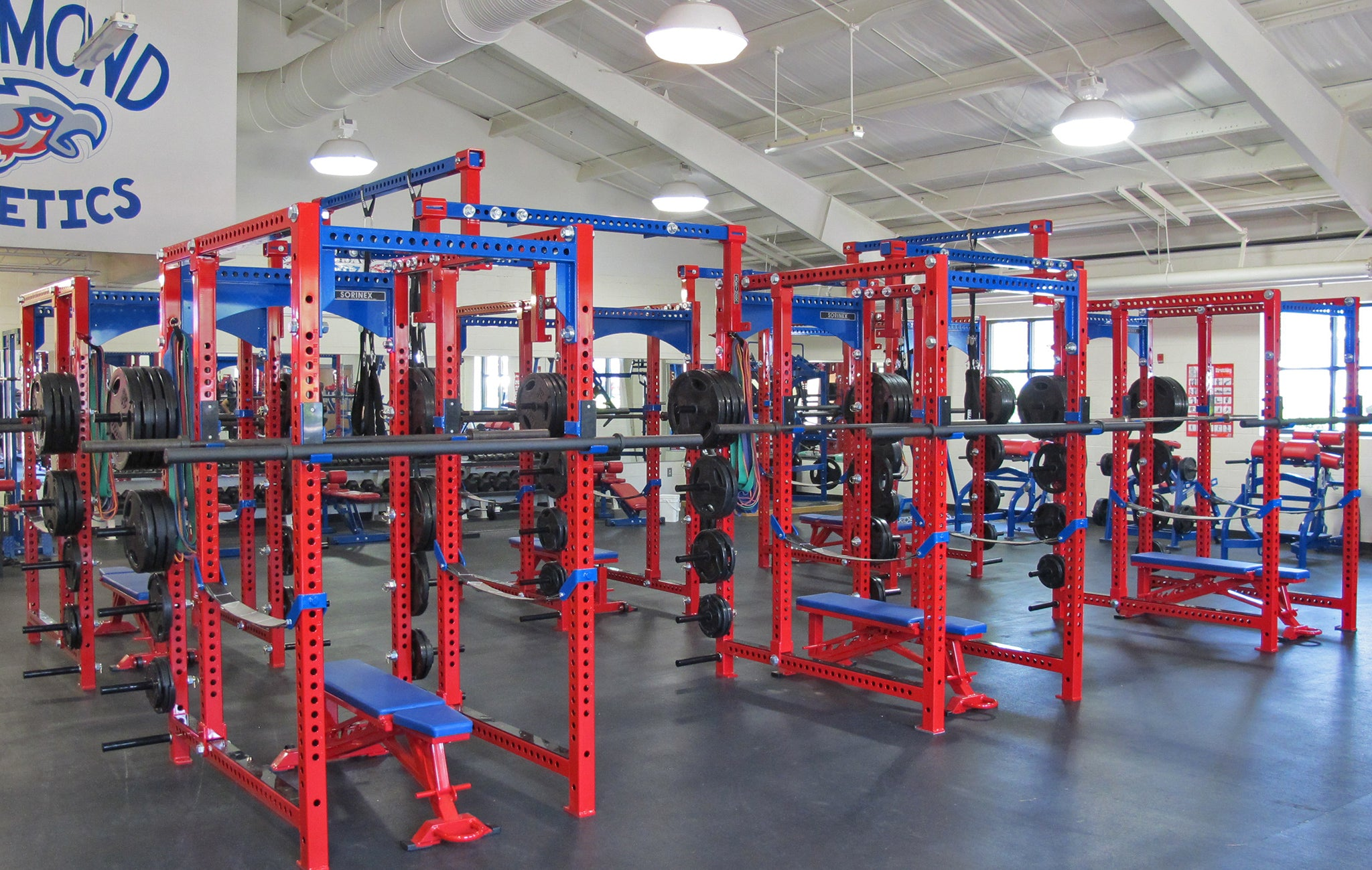 Hammond High School strength and conditioning