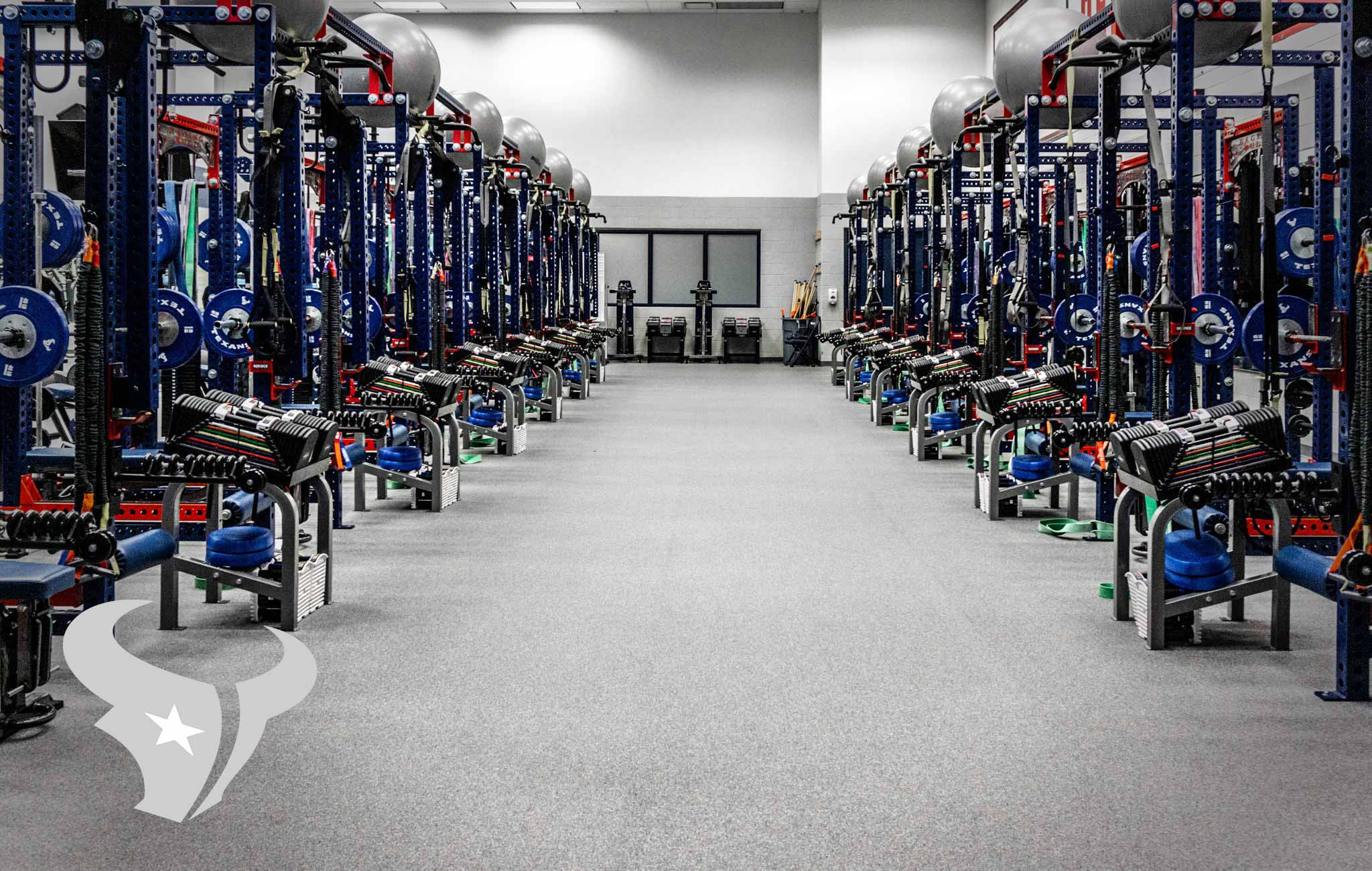 Houston Texans Sorinex strength and conditioning facility