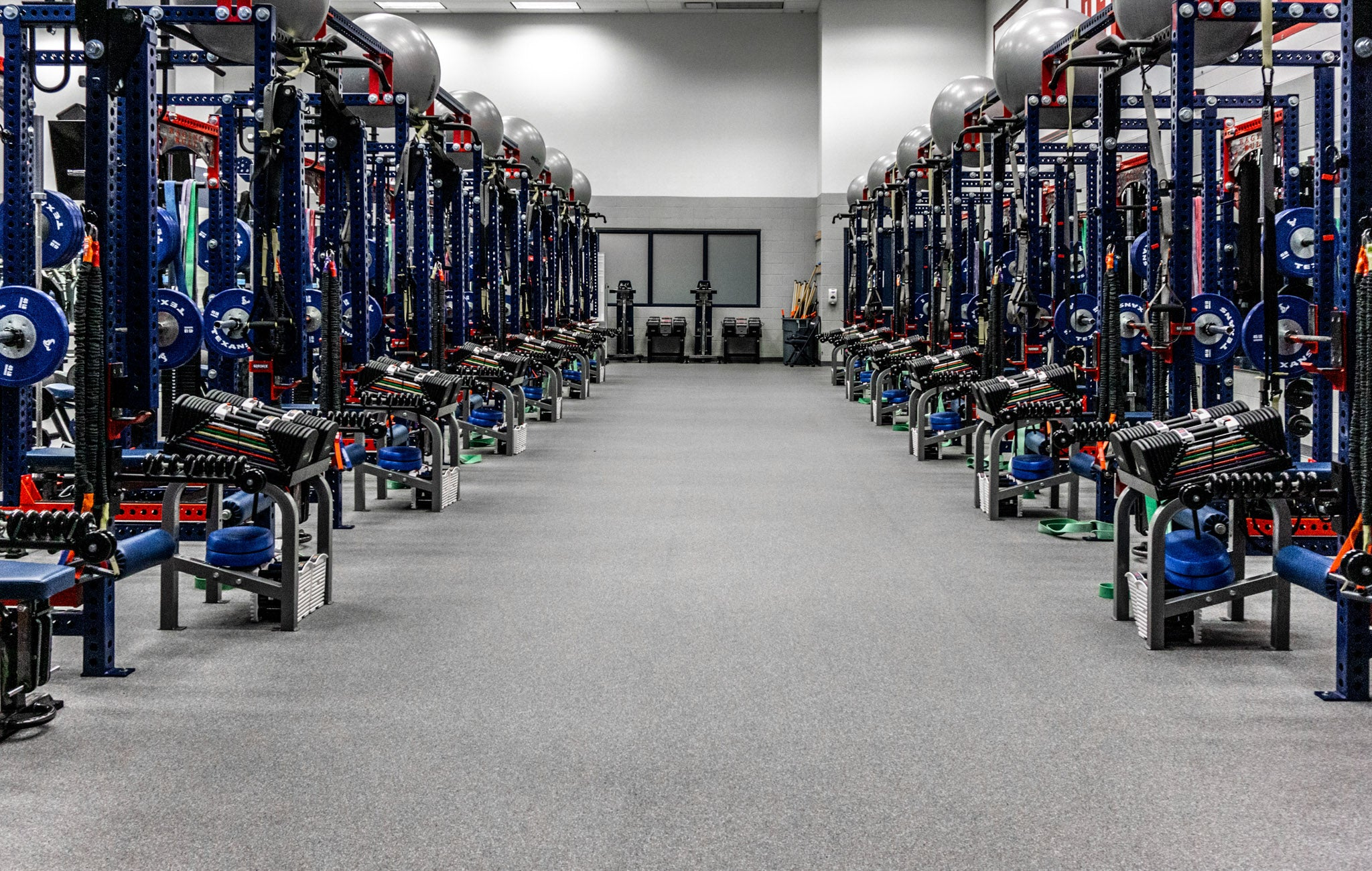 Houston Texans Weight Room