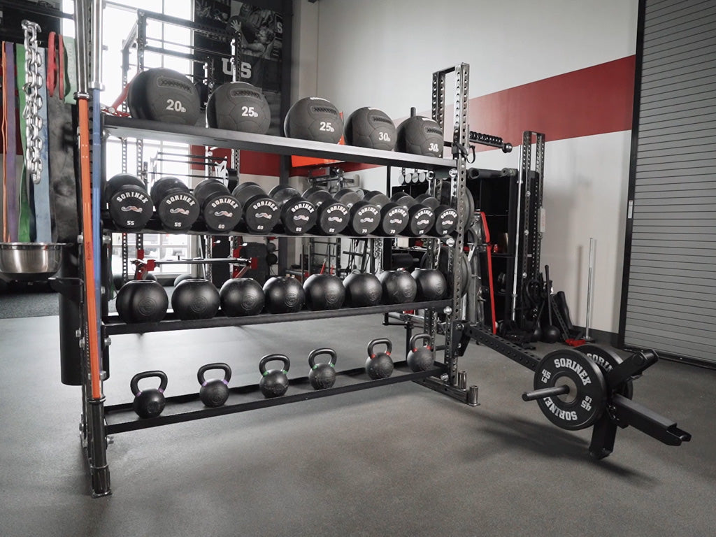 iron bear weight storage rack