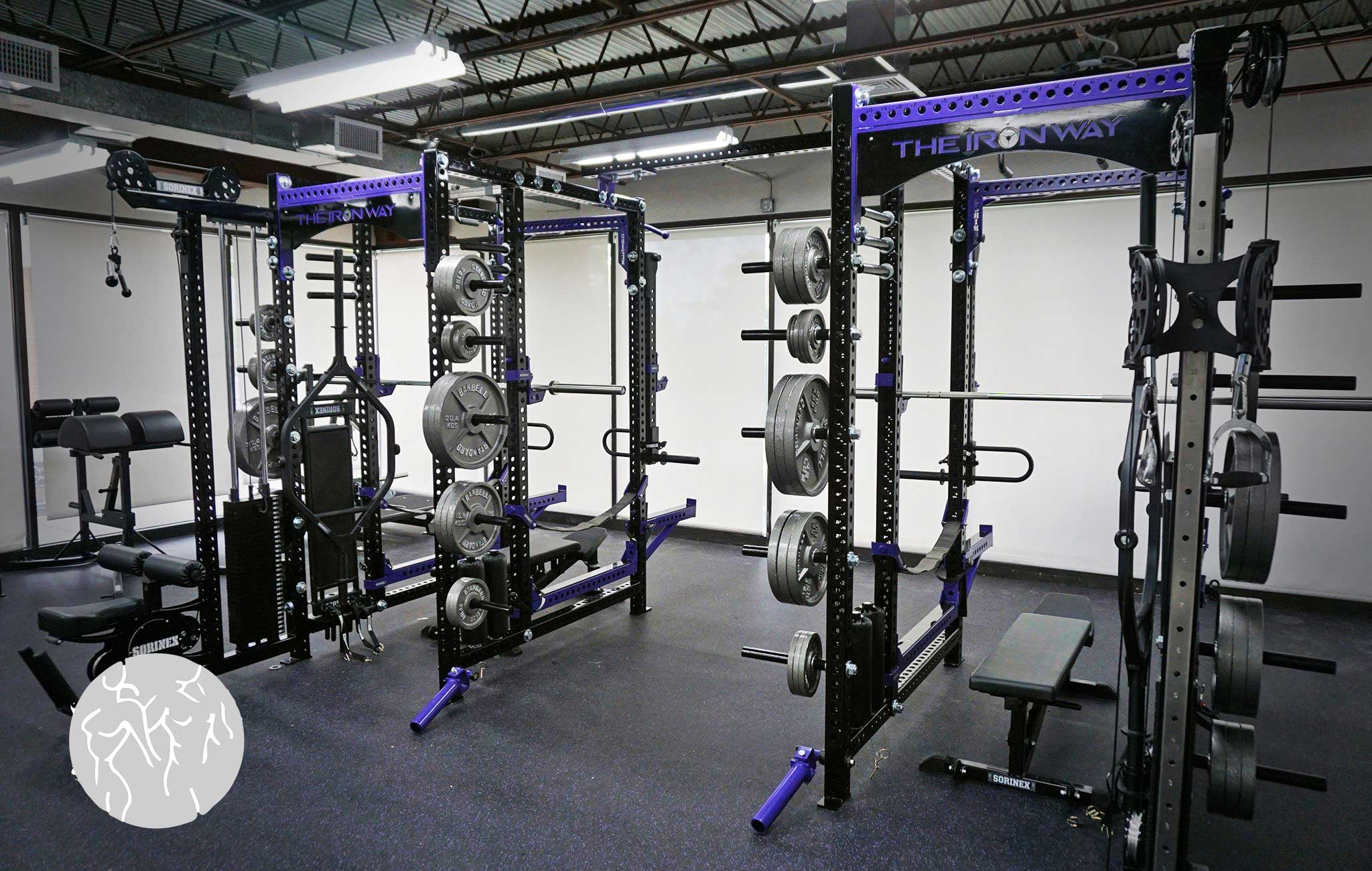 Laroy Fitness Training facility Sorinex