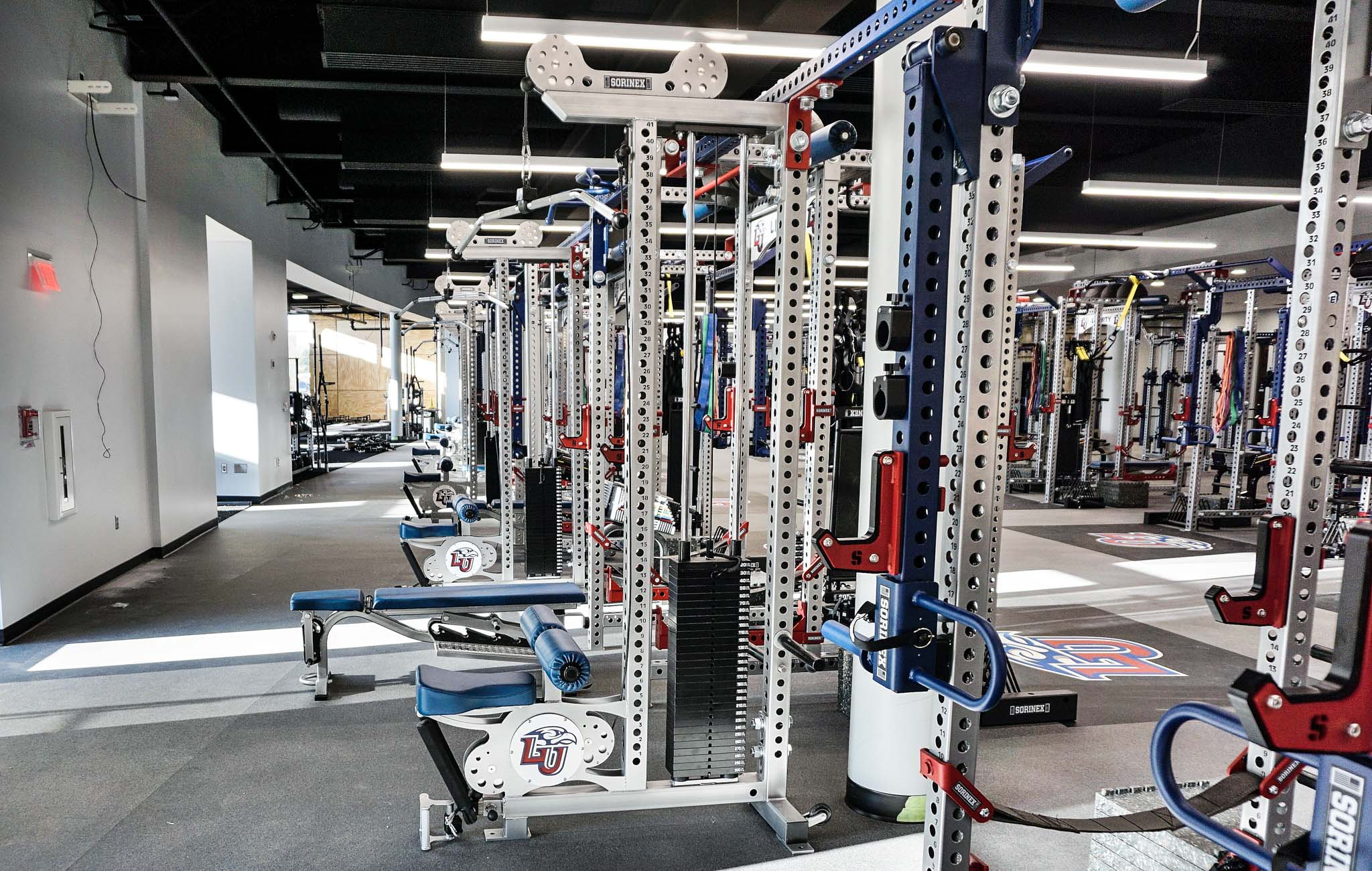 Liberty University Weight room