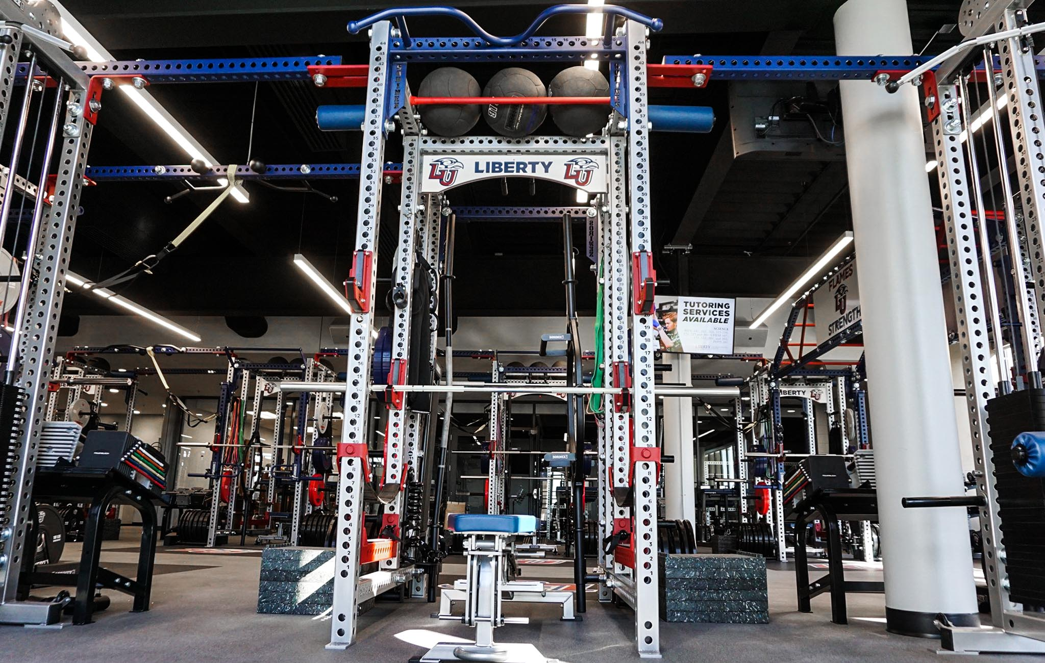 Liberty University strength and conditioning