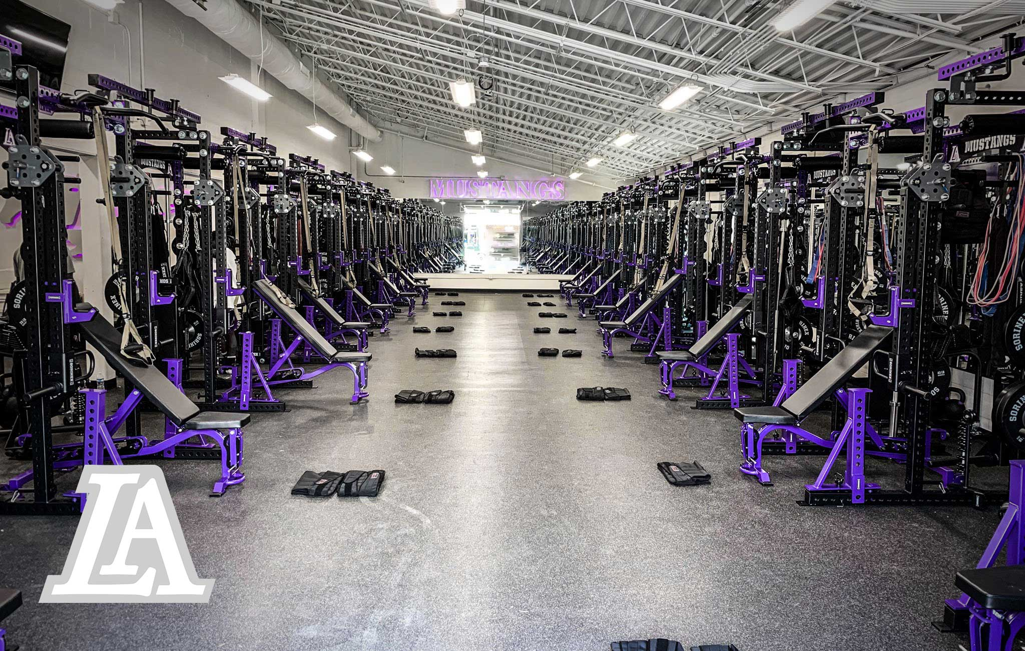 Lipscomb Academy Sorinex strength and conditioning facility