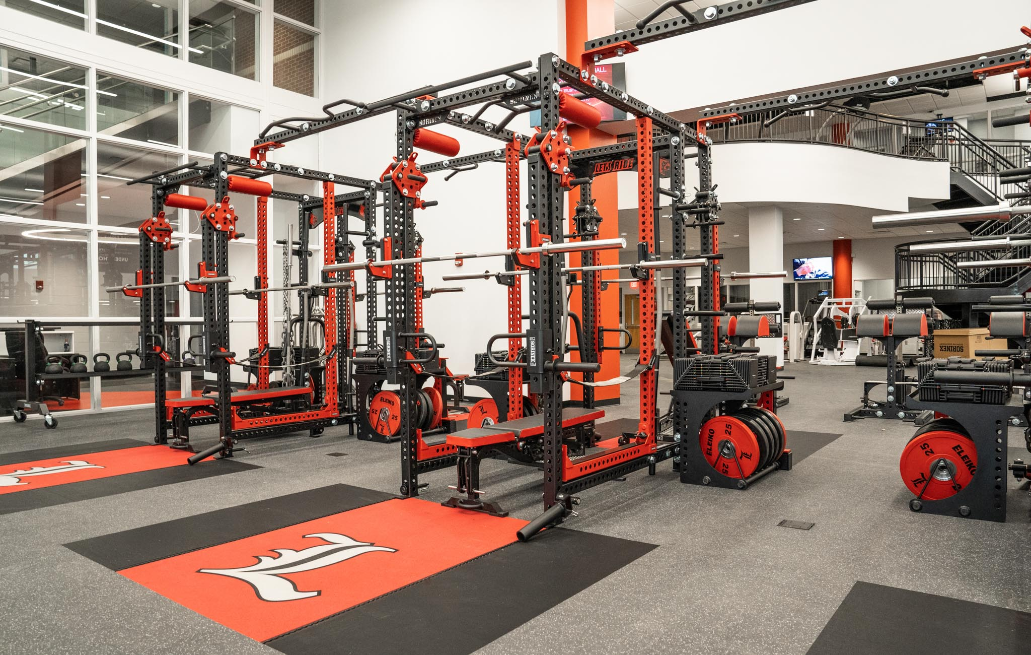 Louisville Football strength and conditioning