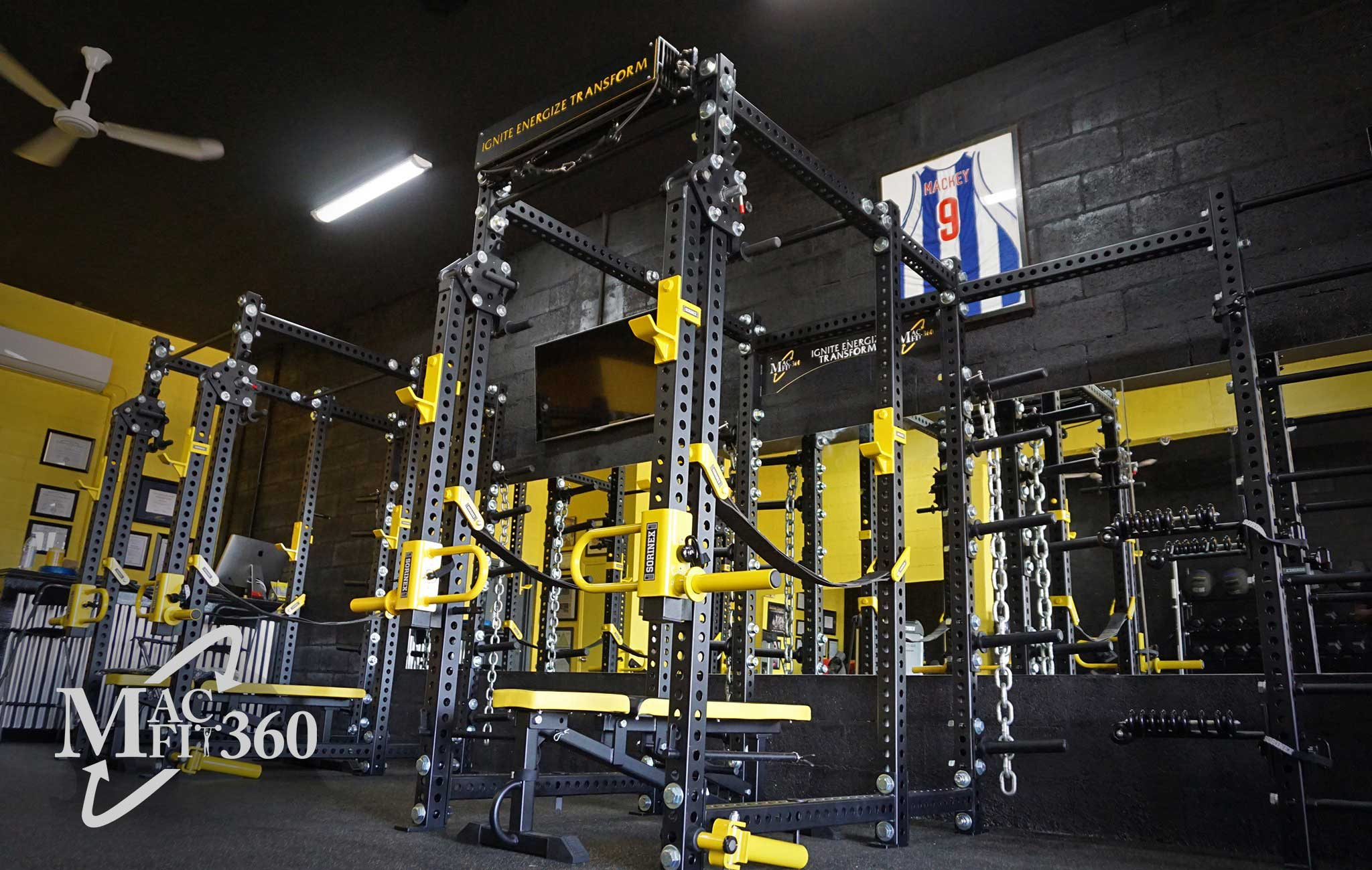 Macfit 360 Training facility Sorinex