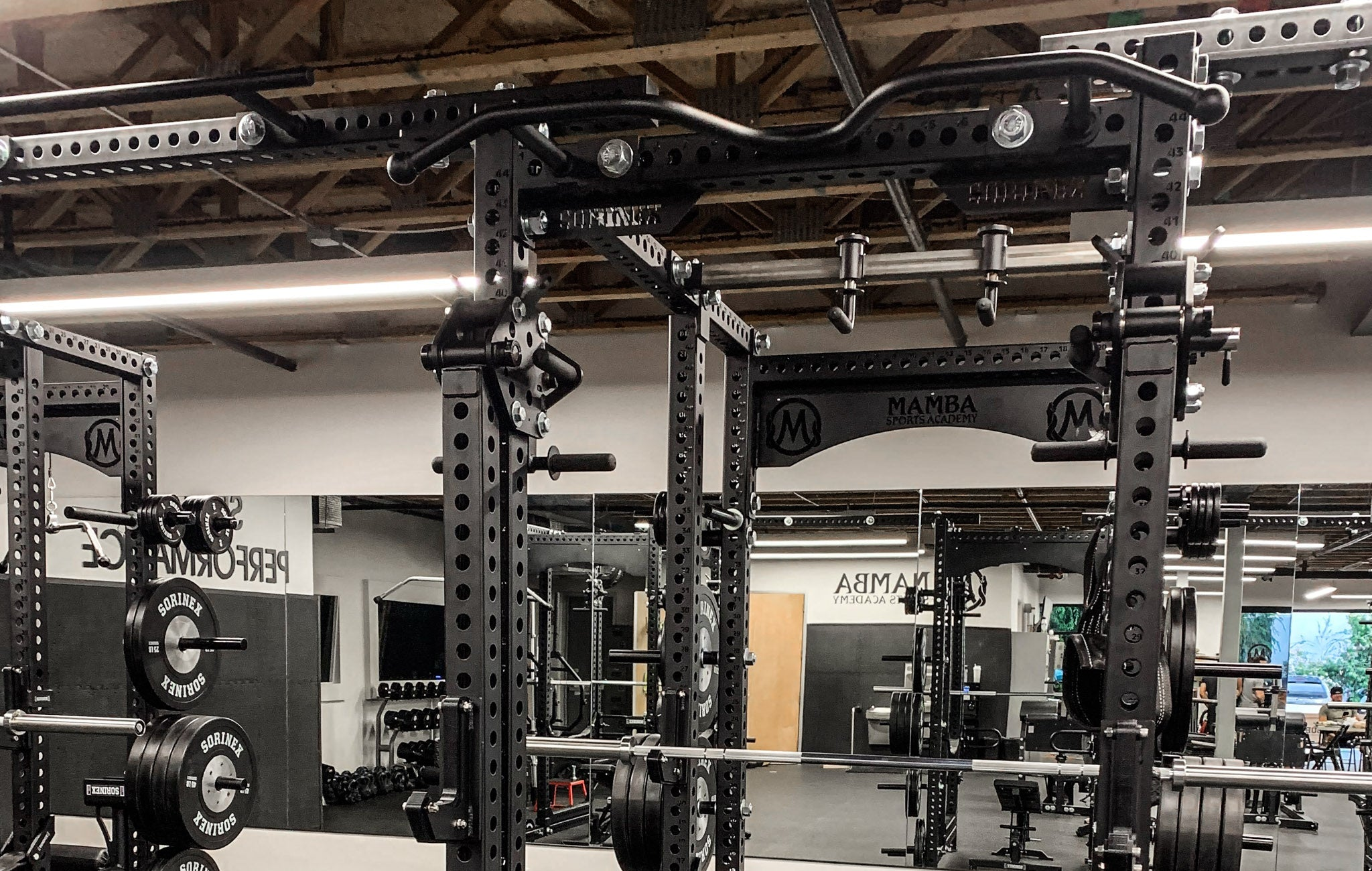 Mamba Sports Academy Weight Room