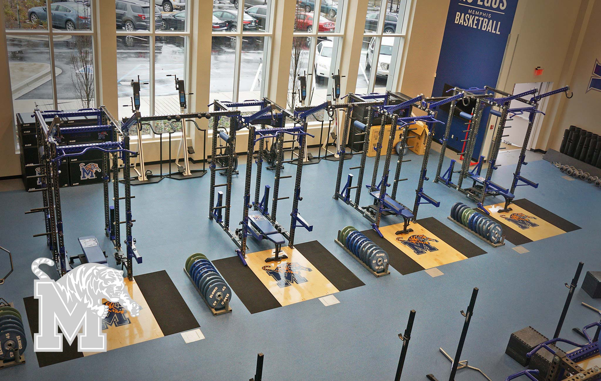 University of memphis Sorinex strength and conditioning facility