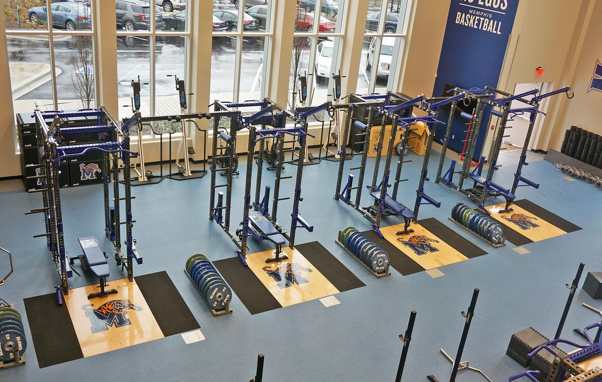 University of Memphis Basketball Weight Room