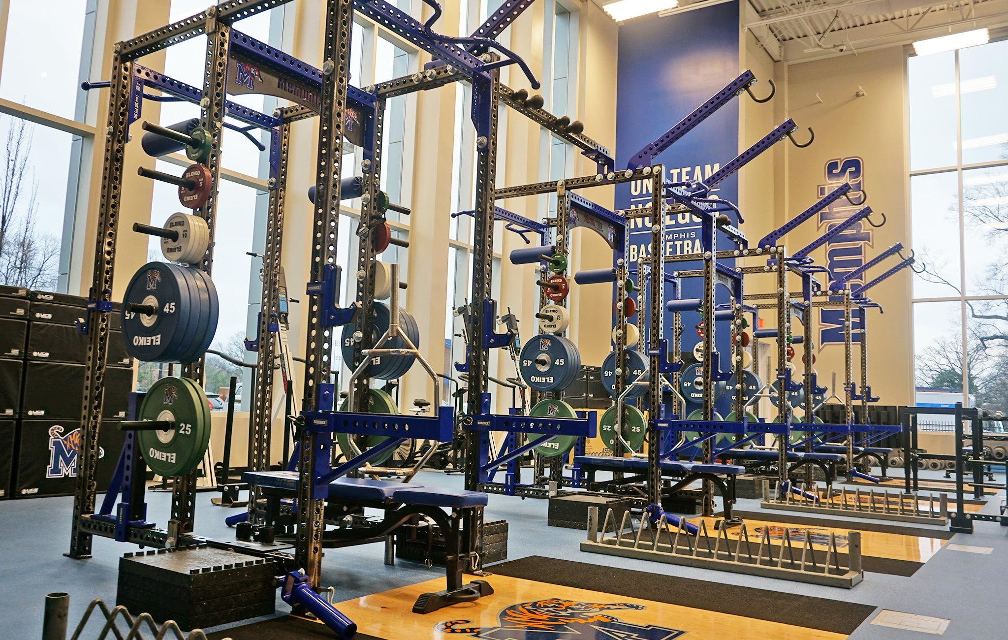 University of Memphis Basketball strength and conditioning