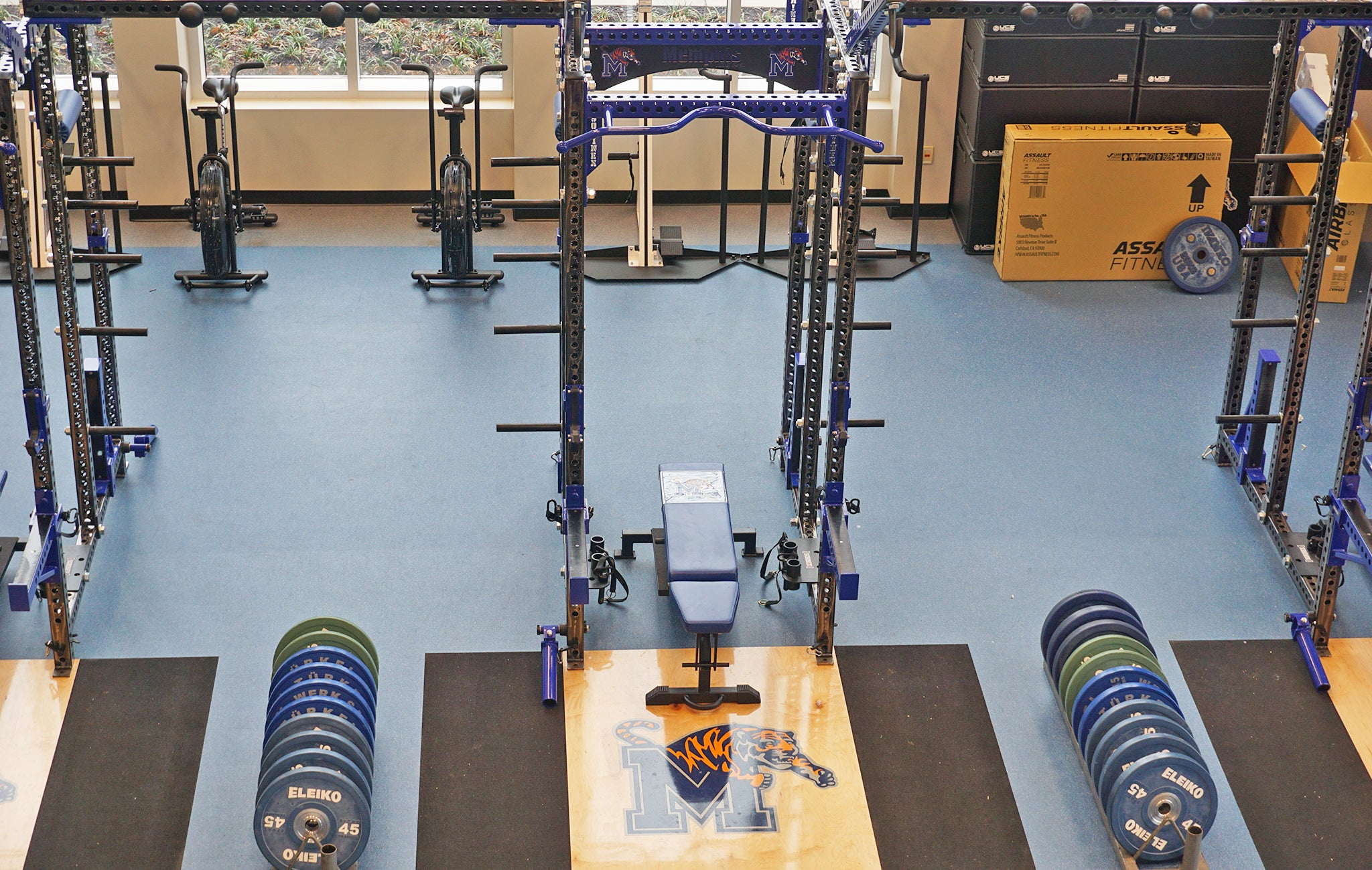 University of Memphis Basketball strength training