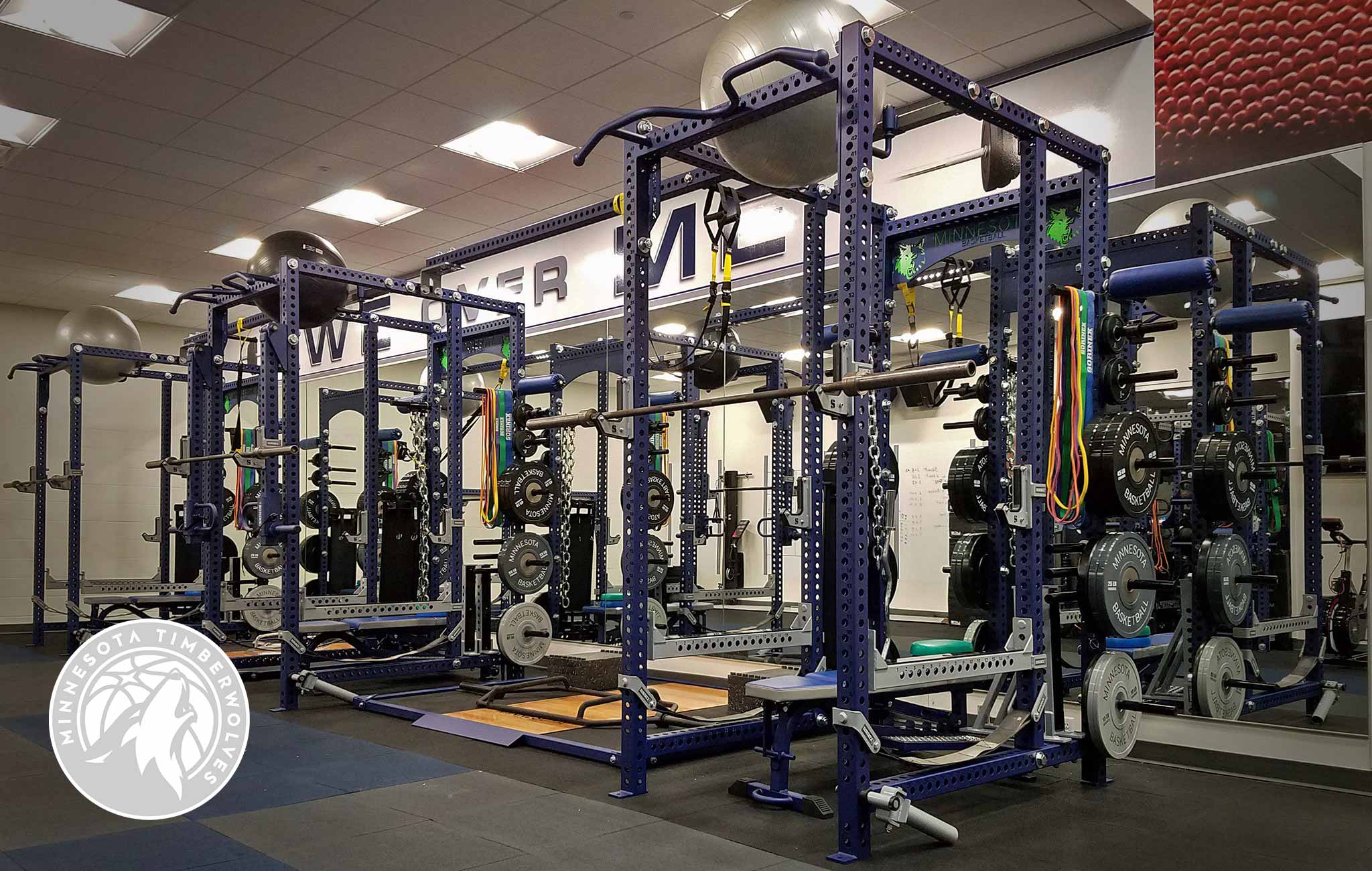Minnesota Timberwolves Sorinex strength and conditioning facility