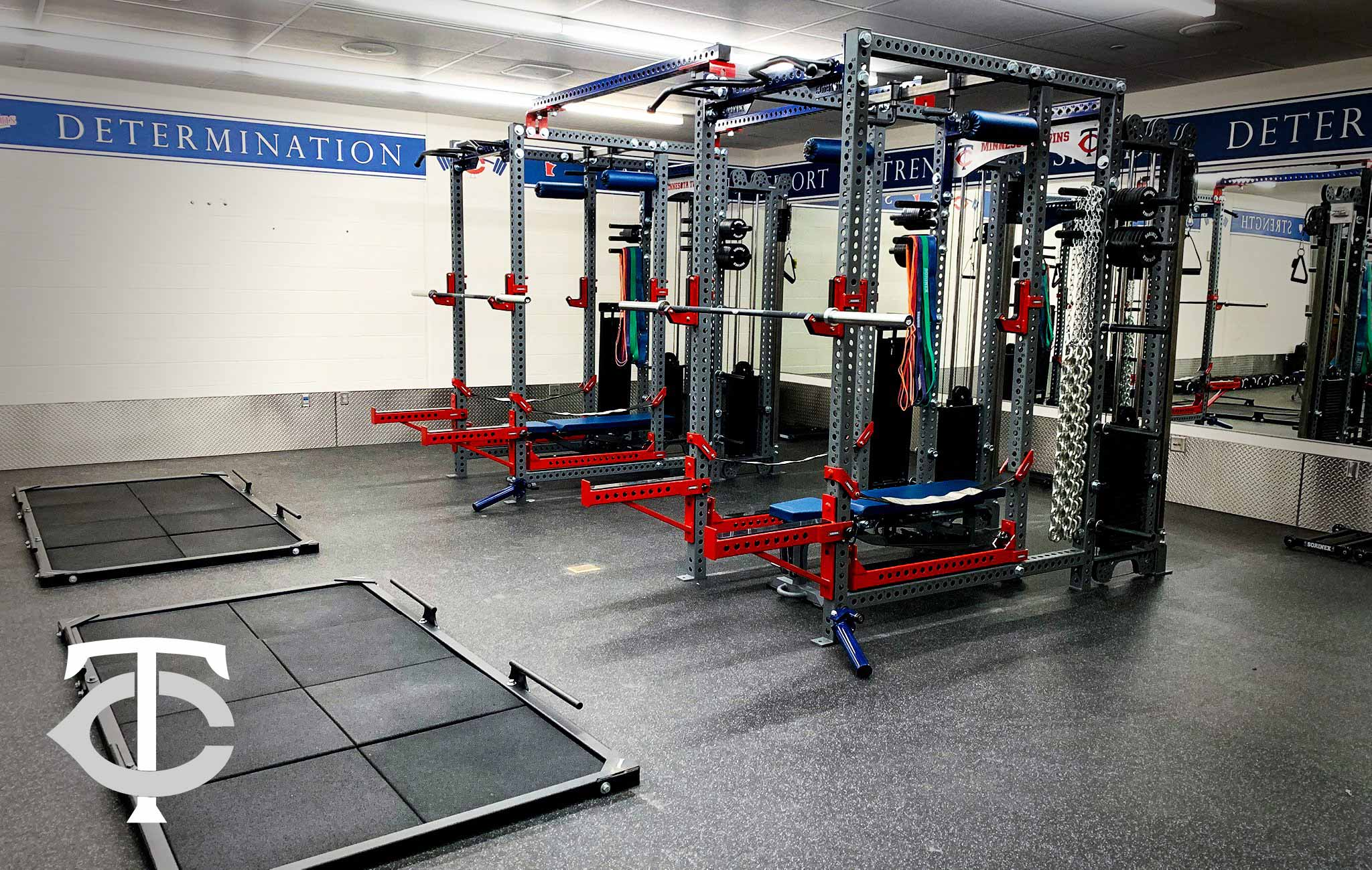 Minnesota Twins Sorinex strength and conditioning facility